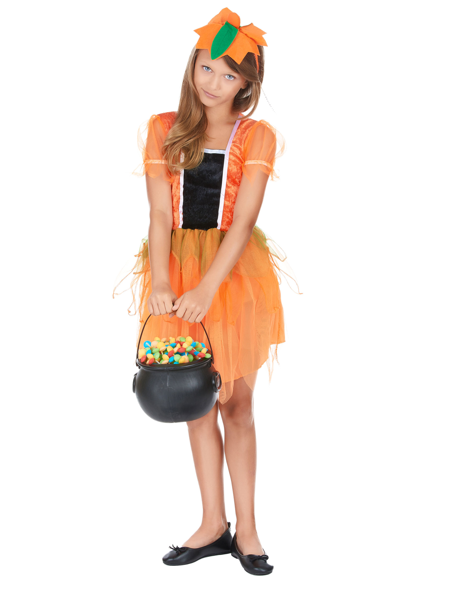 in vendita più popolare sconto del 50 Costume fatina zucca bambina