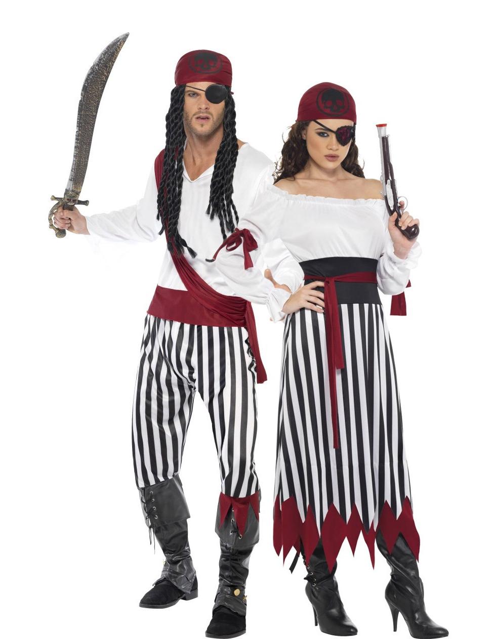 Costume Coppia Di Corsari Costumi Coppia E Vestiti Di