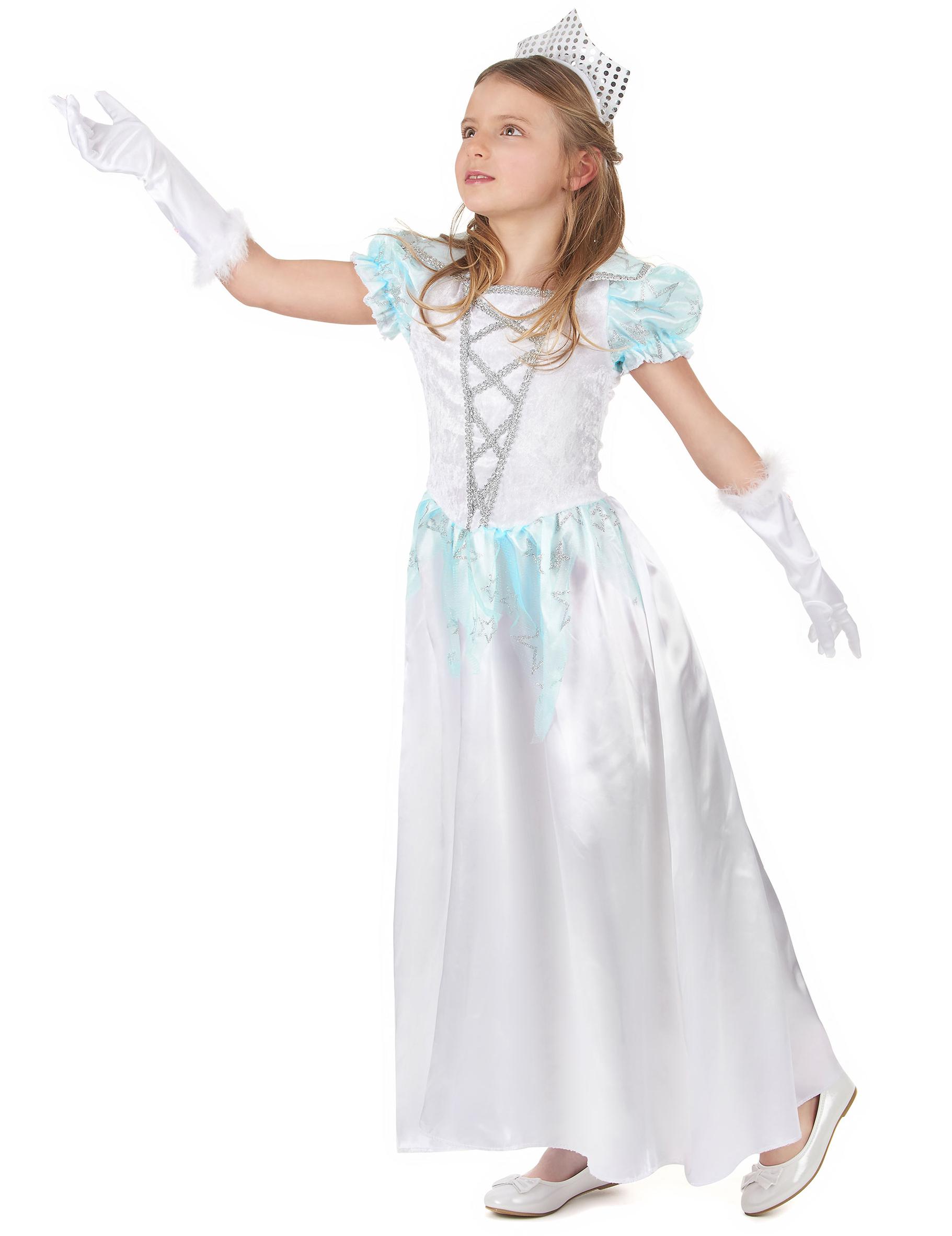 Costume principessa bianca bambina  Costumi bambini 0d8d76f1278