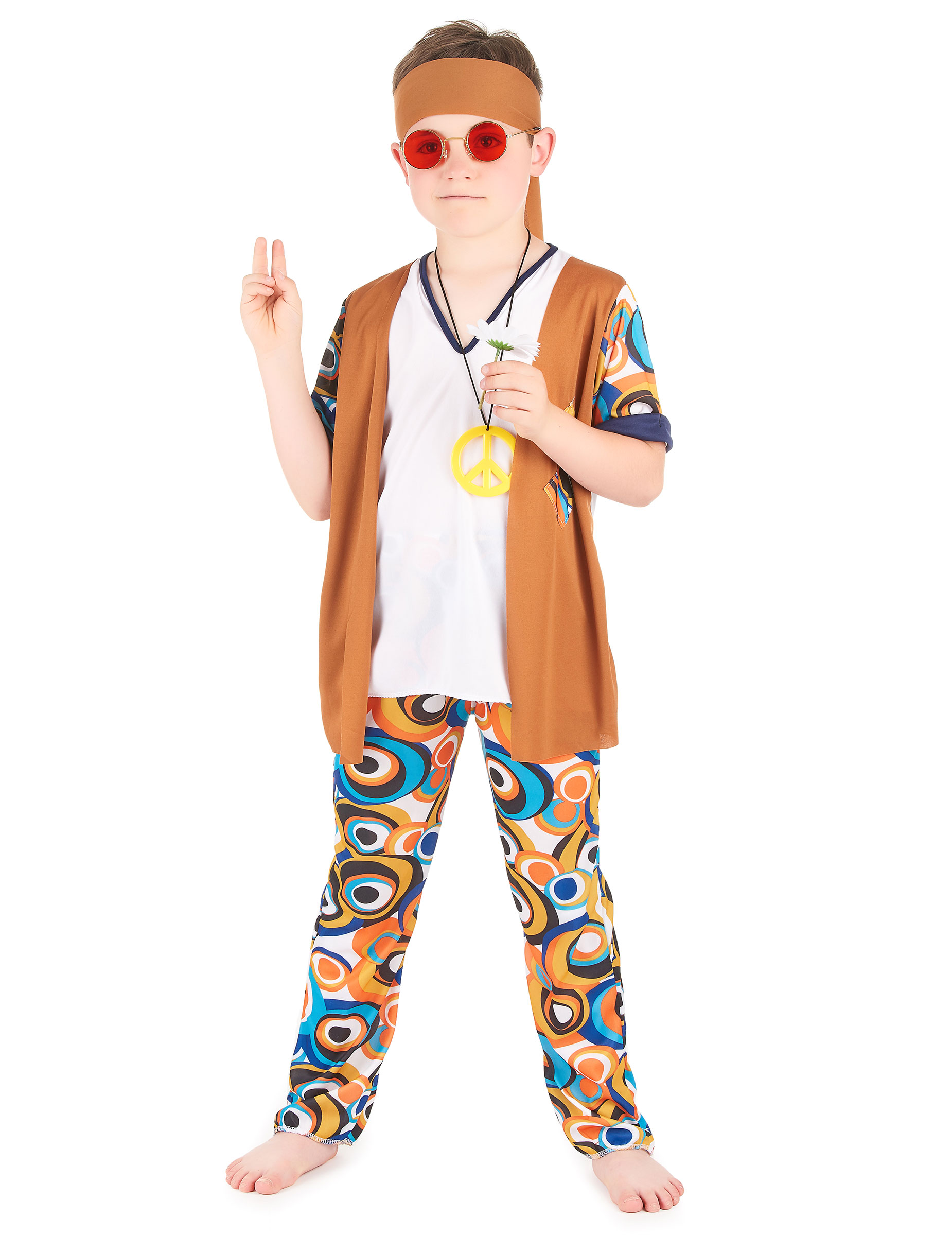 Costume Hippy bambino Costumi bambinie vestiti di carnevale online - Vegaoo
