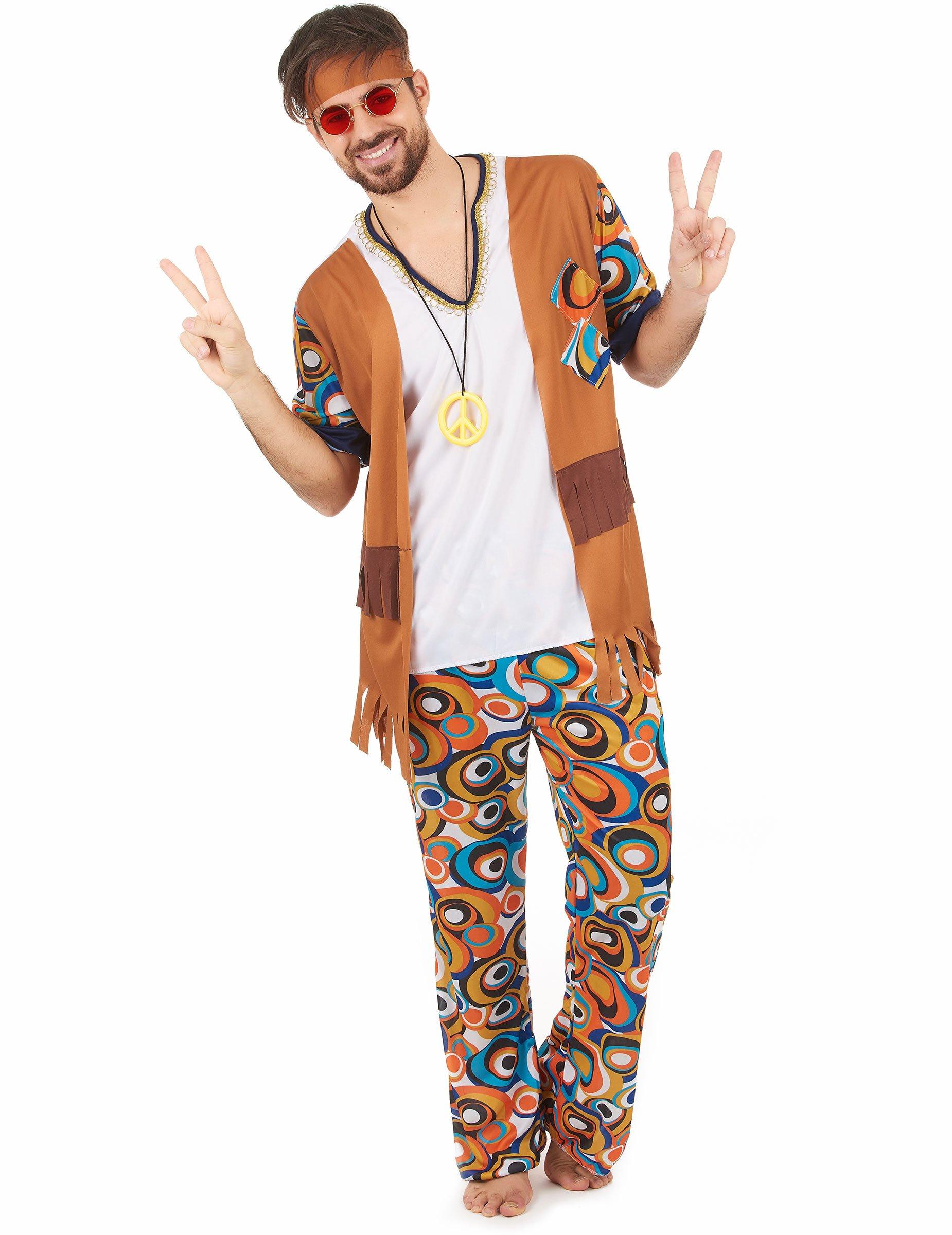 Matrimonio Hippie Uomo : Costume hippie uomo