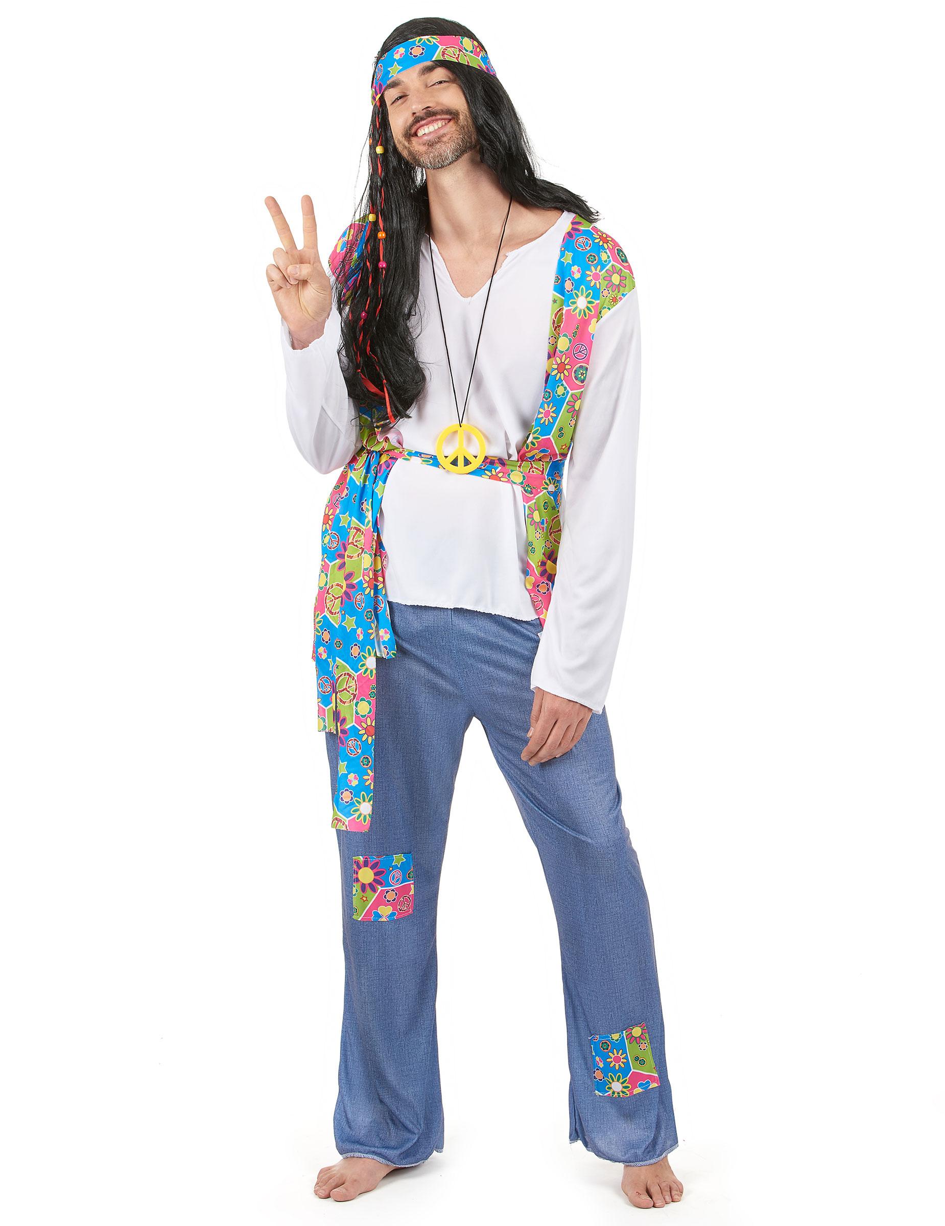 Matrimonio Hippie Uomo : Costume hippie uomo costumi adulti e vestiti di carnevale