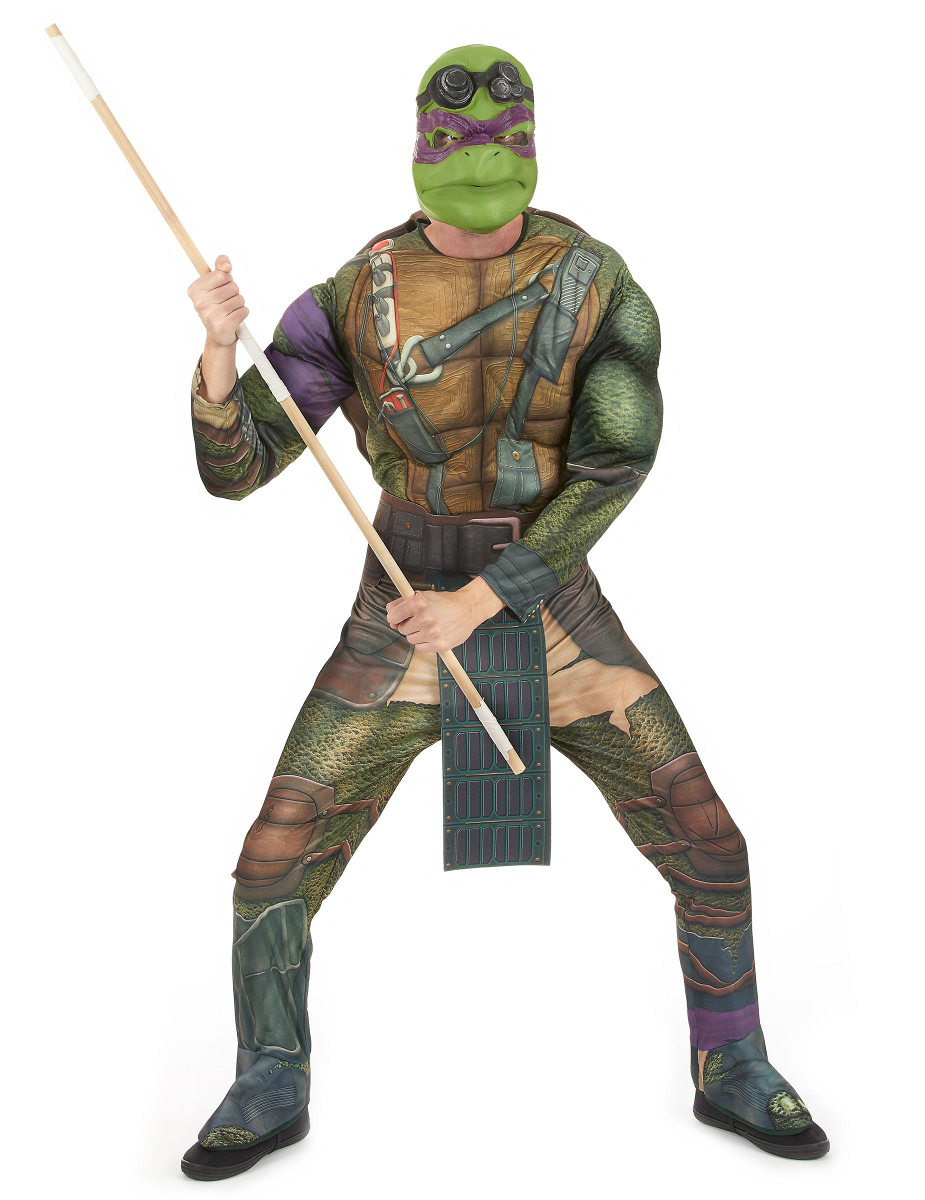 Costume Donatello Tartarughe Ninja Adulto Costumi Adultie Vestiti