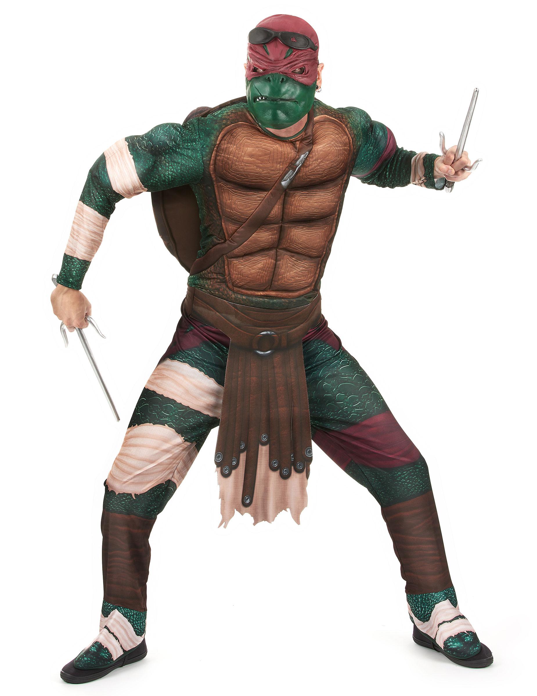 Costume Raffaello Tartarughe Ninja Adulto Costumi Adultie Vestiti
