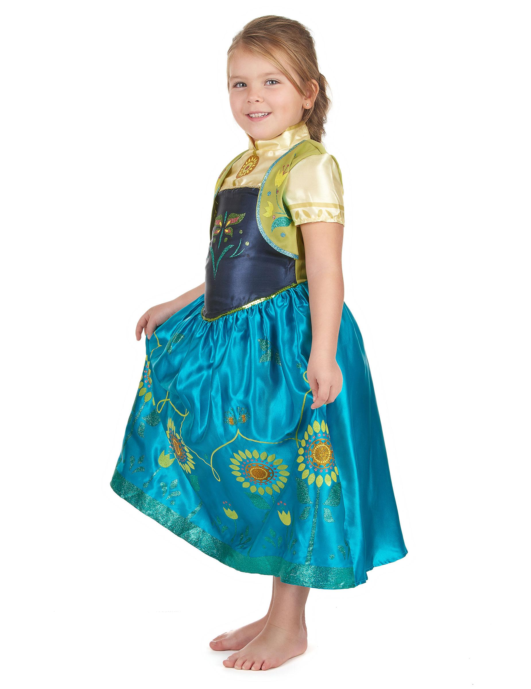 Bambina Costume Costumi Anna e Di Vestiti Carnevale Frozen™ Bambini qpERpwU