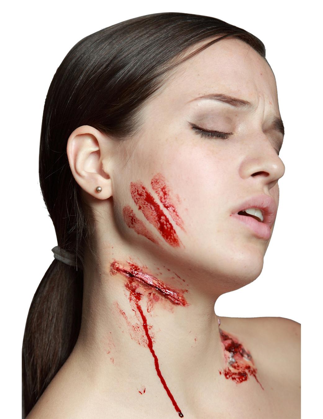Finto taglio trucco di halloween trucco e vestiti di carnevale online vegaoo - Trucchi per taglio piastrelle ...