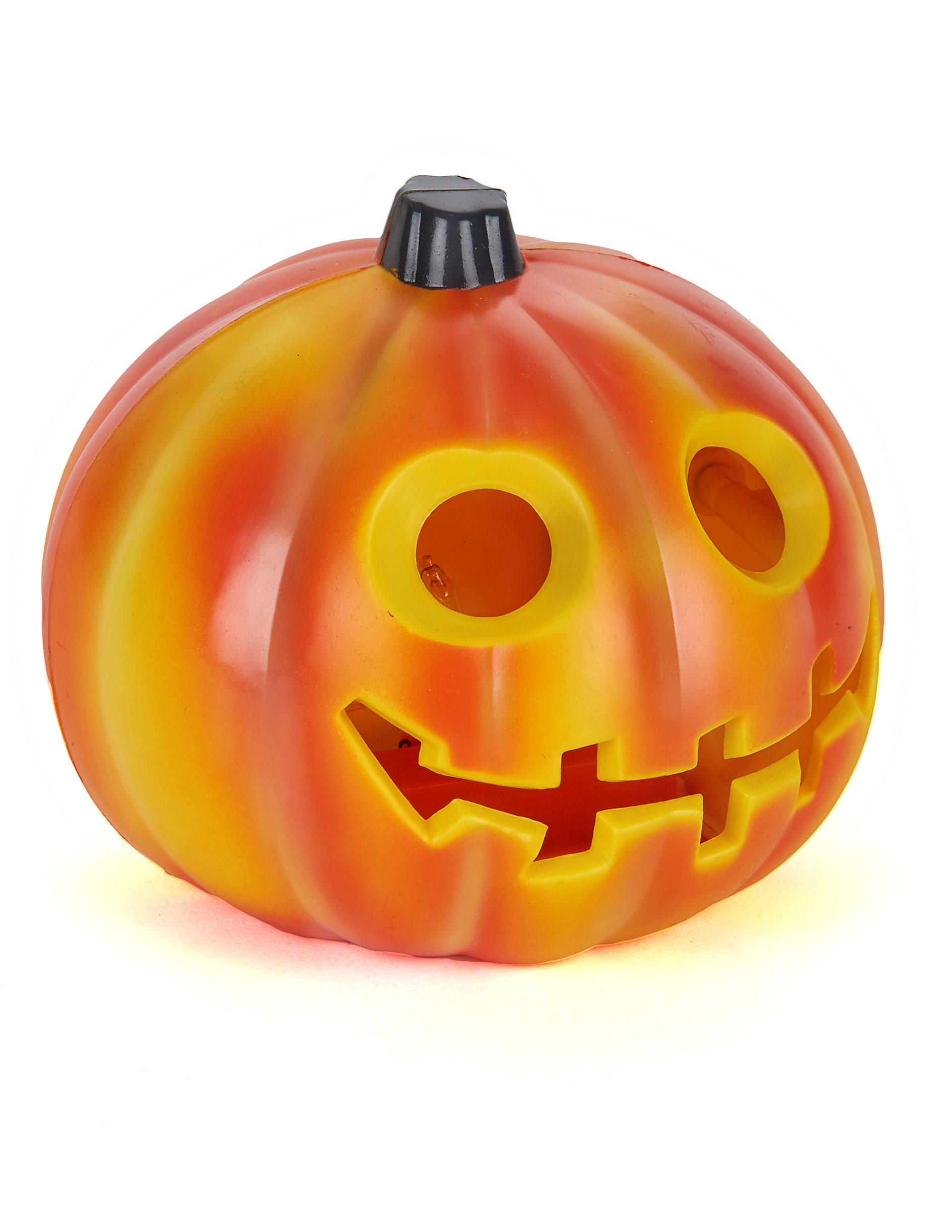 Zucca luminosa addobbi e vestiti di carnevale online vegaoo for Zucca halloween luminosa