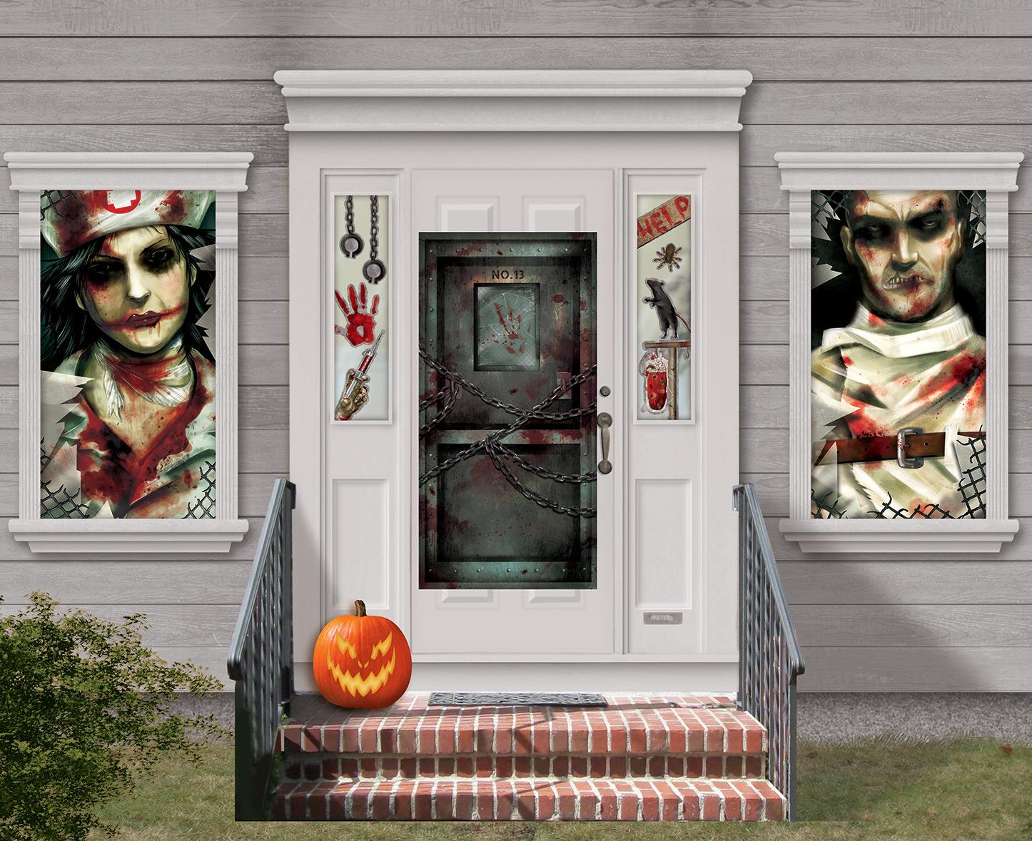 Confezione per decorazione murale di halloween addobbi e for Decorazione di halloween