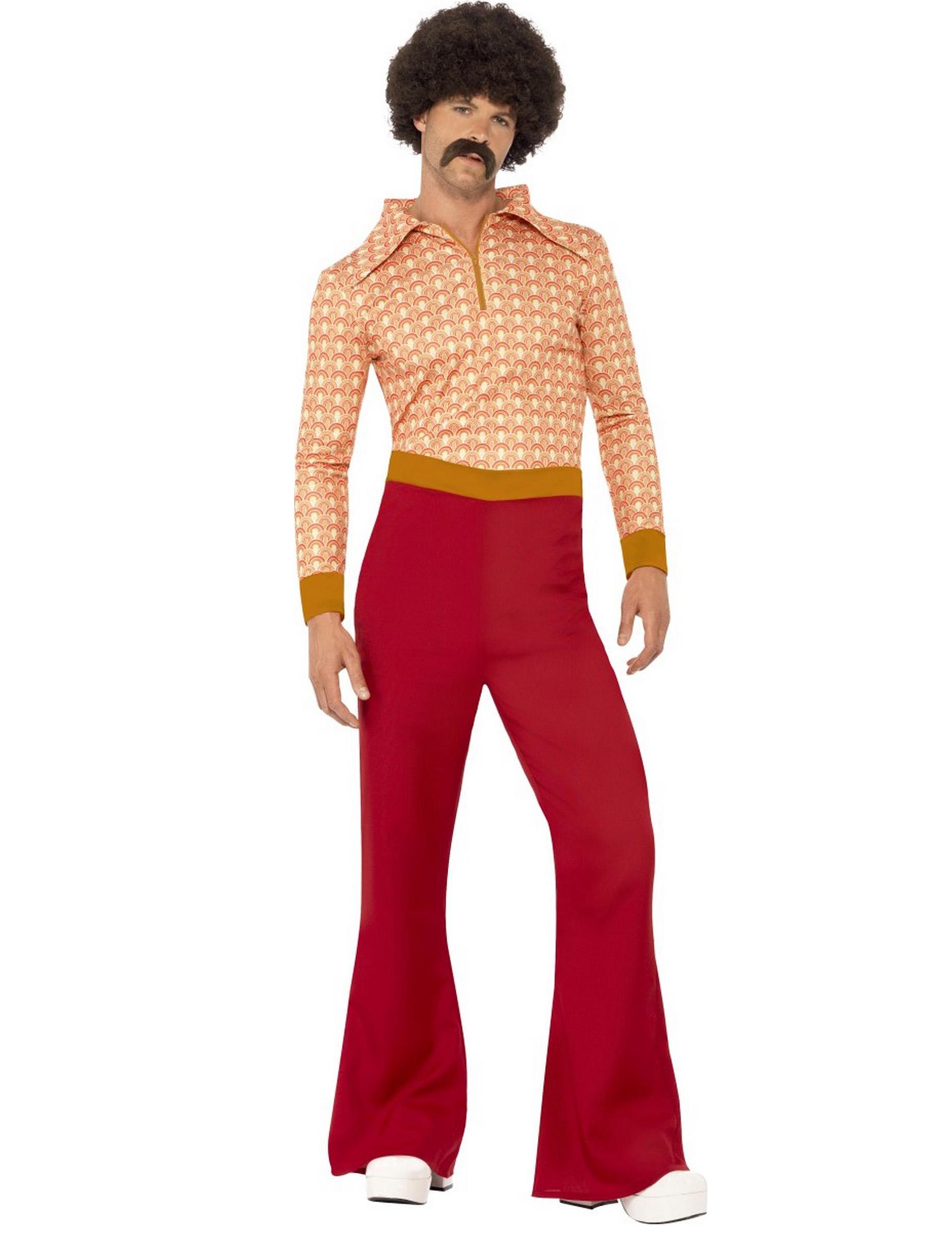 costume anni 70 uomo costumi adulti e vestiti di carnevale online vegaoo. Black Bedroom Furniture Sets. Home Design Ideas