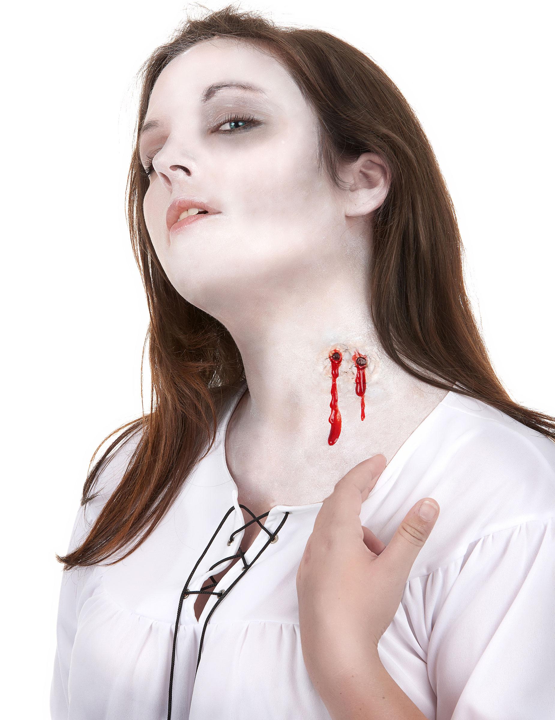 CARNEVALE COPPIA CICATRICI Travestimenti Horror Halloween Trucchi Ferite