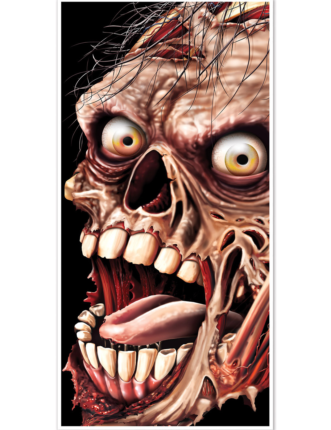 Decorazione Da Porta Zombie Halloween Addobbi E Vestiti