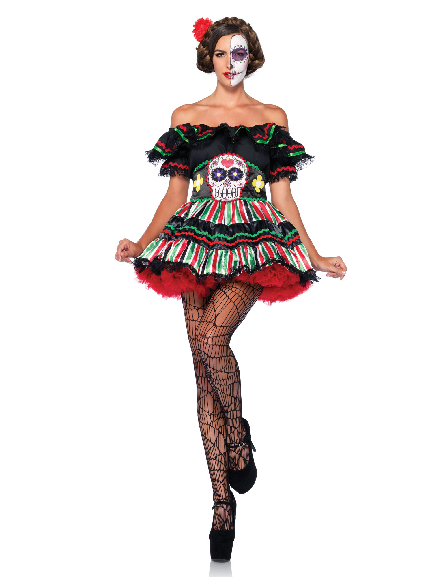 Costume Dia de los Muertos donna  Costumi adulti 511bc120943