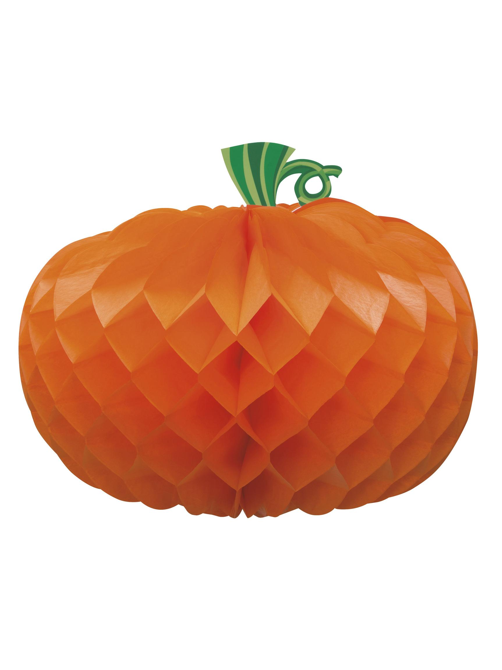 Decorazione Di Halloween Centrotavola Di Carta Zucca