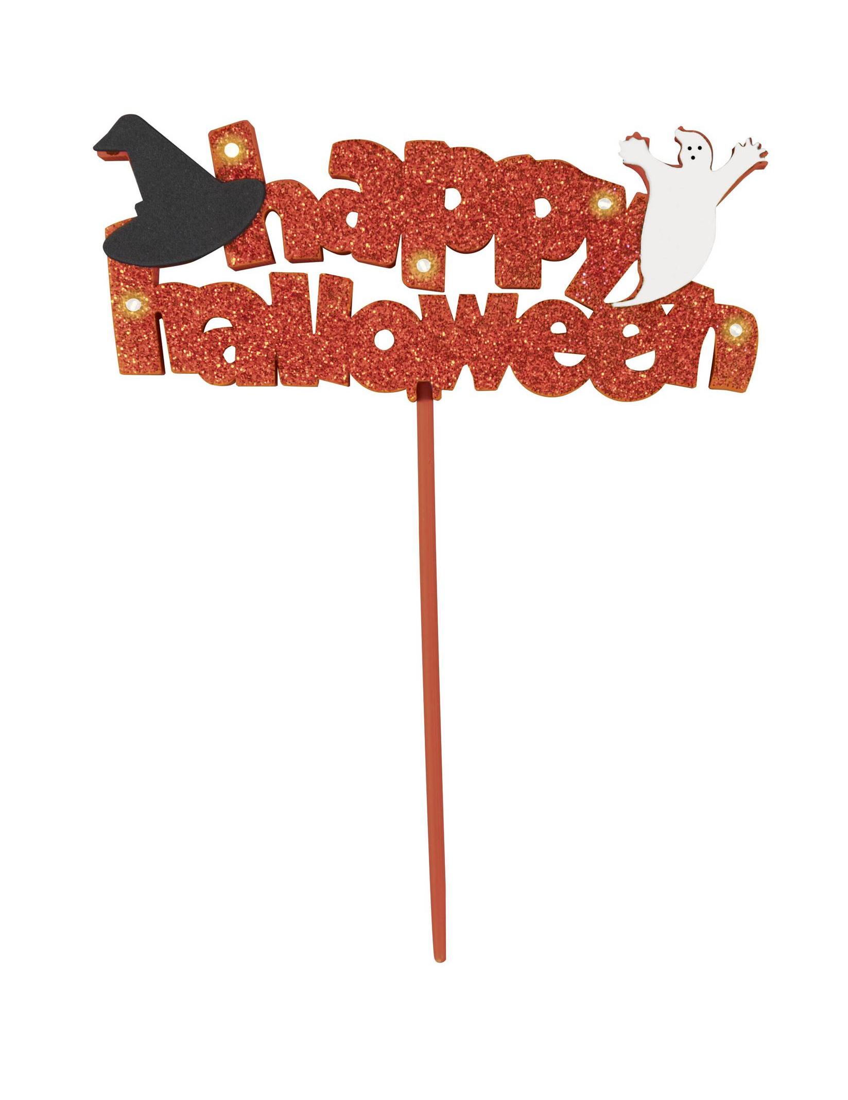 Decorazione Di Halloween Scritta Happy Halloween Luminosa