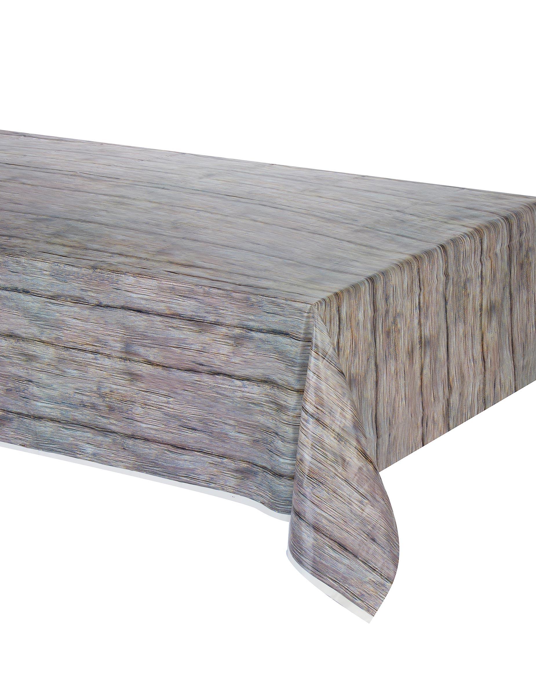 tovaglia effetto legno rustico addobbi e vestiti di carnevale online vegaoo. Black Bedroom Furniture Sets. Home Design Ideas