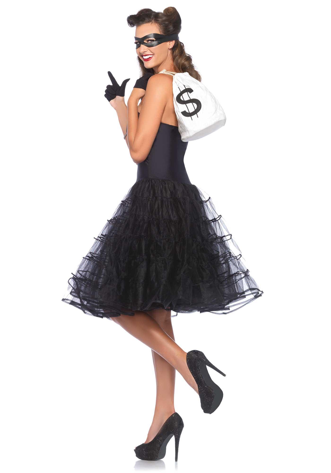 Costume nero donna anni 39 60 costumi adulti e vestiti di - Costume da bagno anni 30 ...