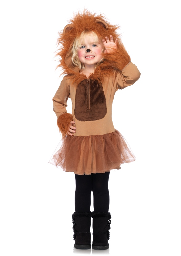 aspetto dettagliato assolutamente alla moda nuova alta qualità Costume Leone bambina: Costumi bambini,e vestiti di ...