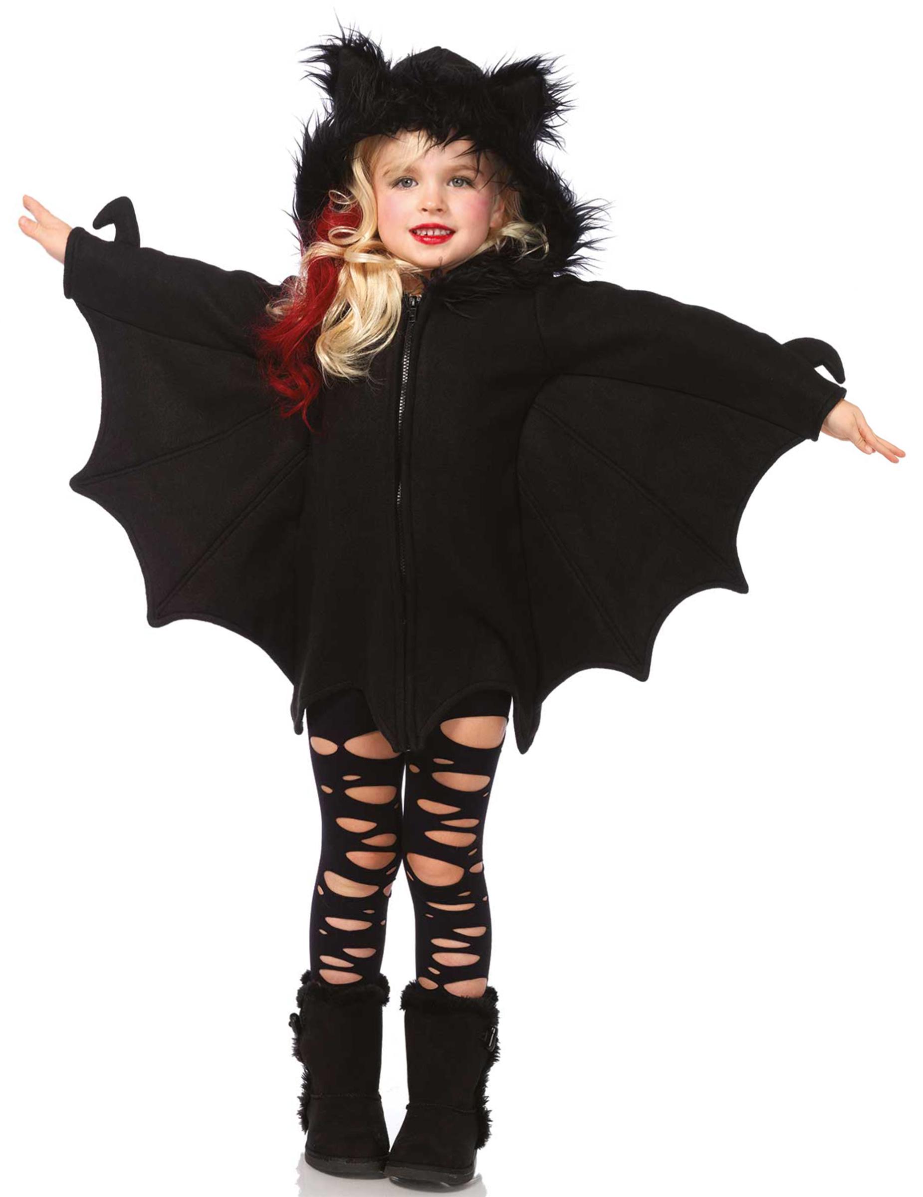 di modo attraente marchi riconosciuti confrontare il prezzo Costume pipistrello bambina