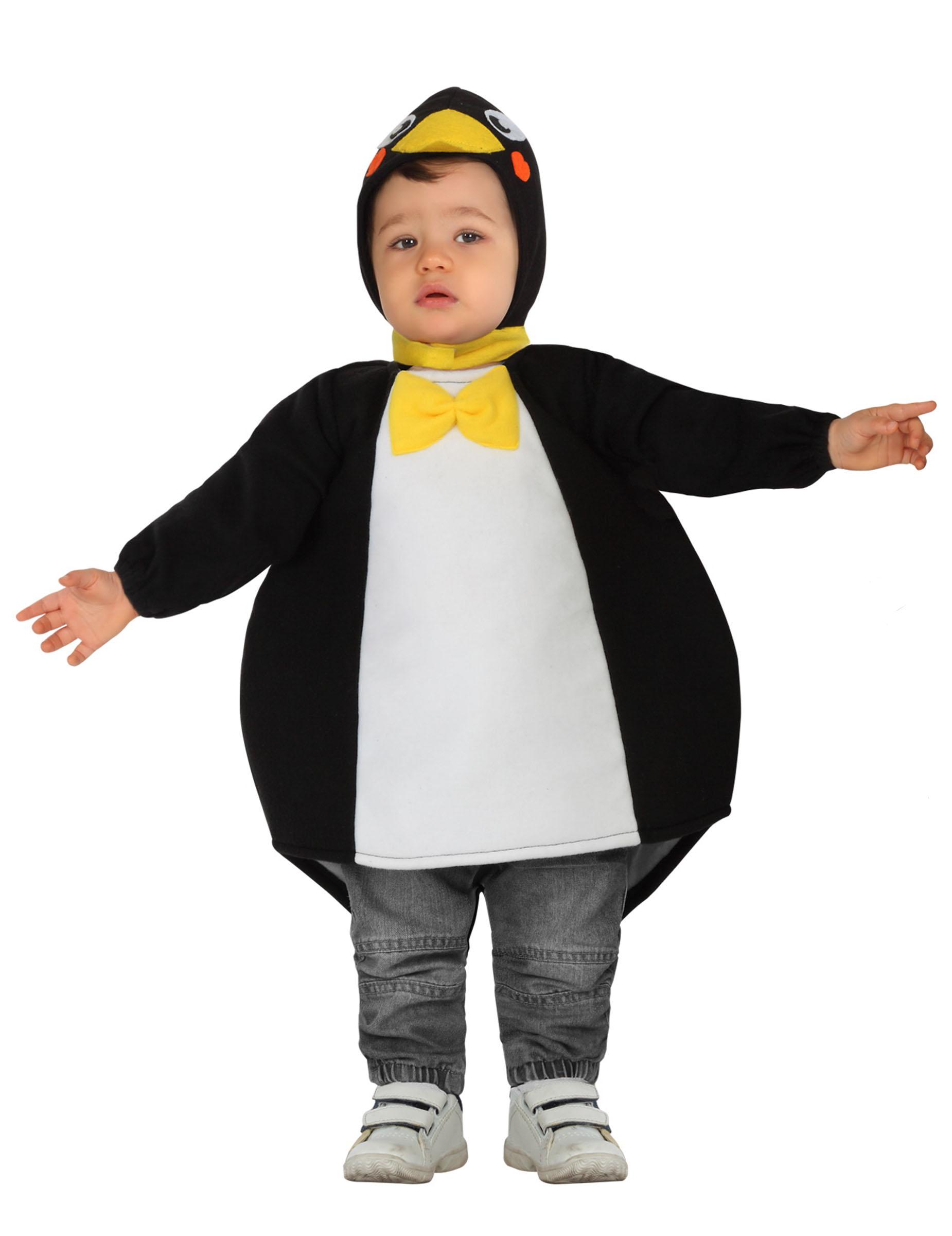 Costume da pinguino per neonato costumi bambini e vestiti di carnevale online vegaoo - Costume bagno neonato ...