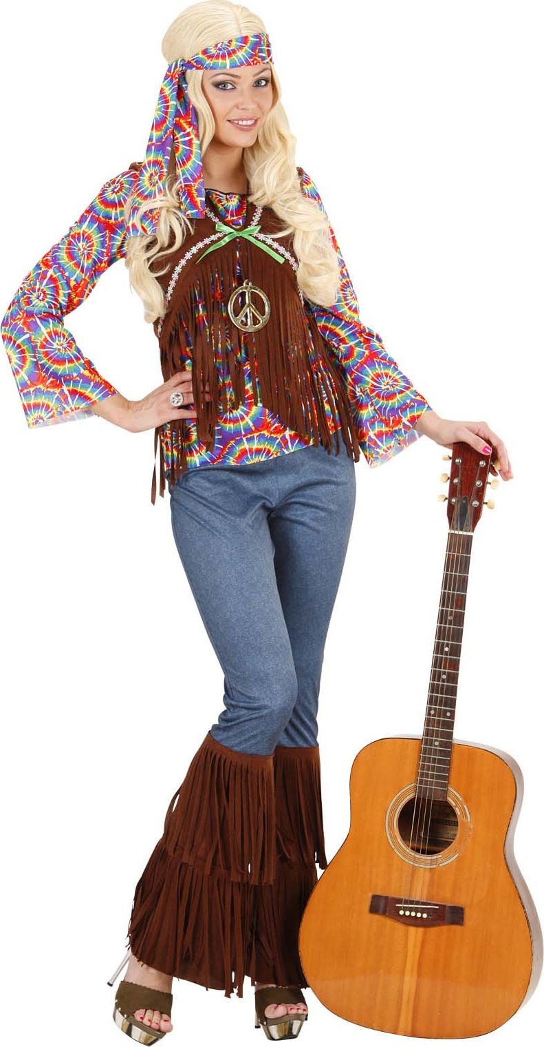 Costume hippie psichedelico donna - Hippie bluse damen ...