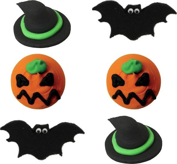 decorazioni per dolci di halloween 6 mini dischi di On decorazioni dolci shop online