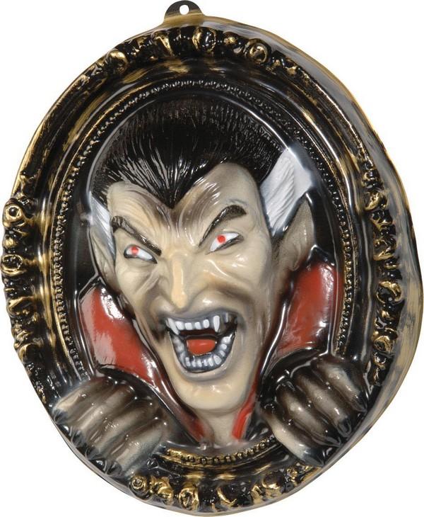 Decorazione murale di halloween quadro con vampiro for Decorazione di halloween