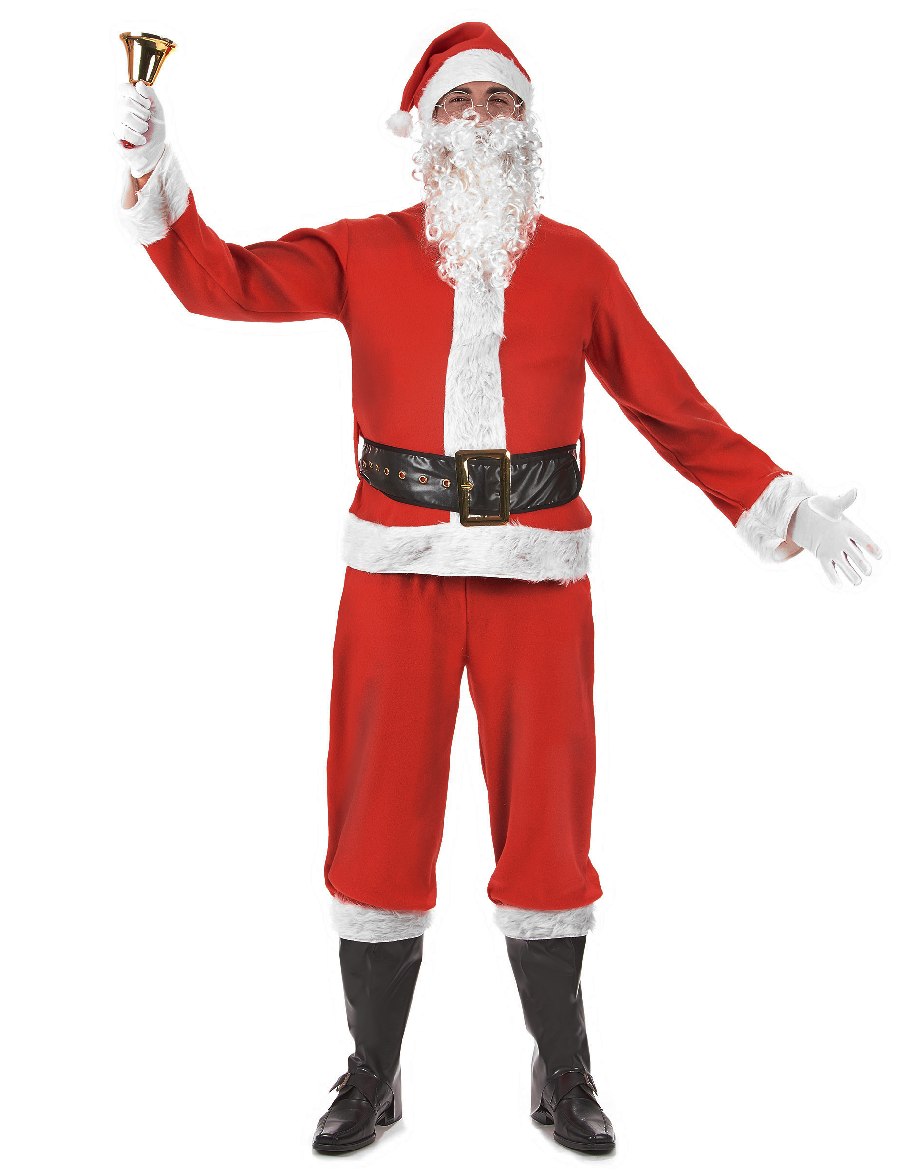 Costume Babbo Natale.Costume Completo Da Babbo Natale Per Adulto Costumi Adulti E