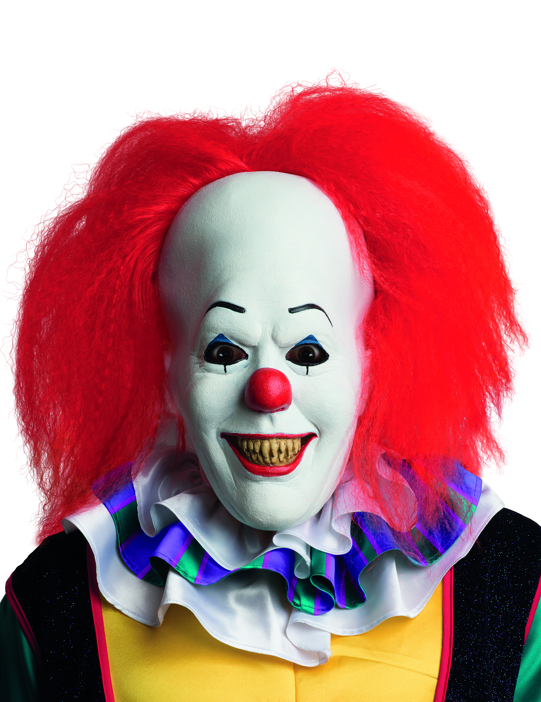 maschera in lattice clown di it adulto maschere e vestiti di carnevale online vegaoo. Black Bedroom Furniture Sets. Home Design Ideas
