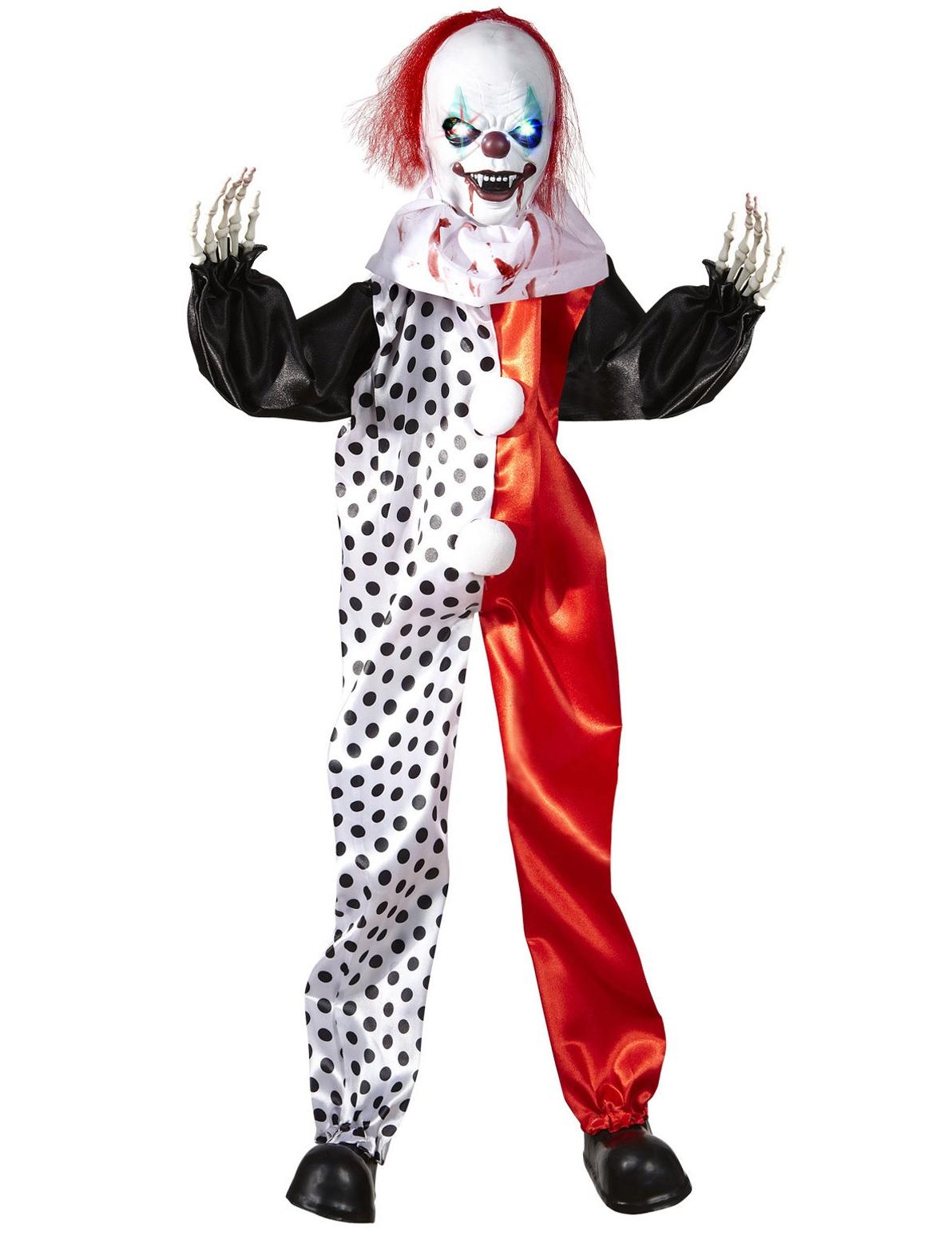 Decorazione Di Halloween Clown Assassino Luminoso