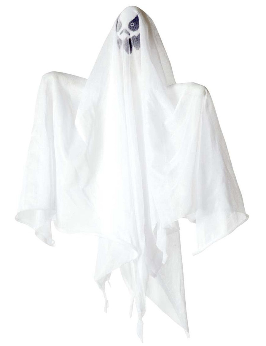Decorazione Halloween Fantasma Luminoso 50 Cm Addobbi E
