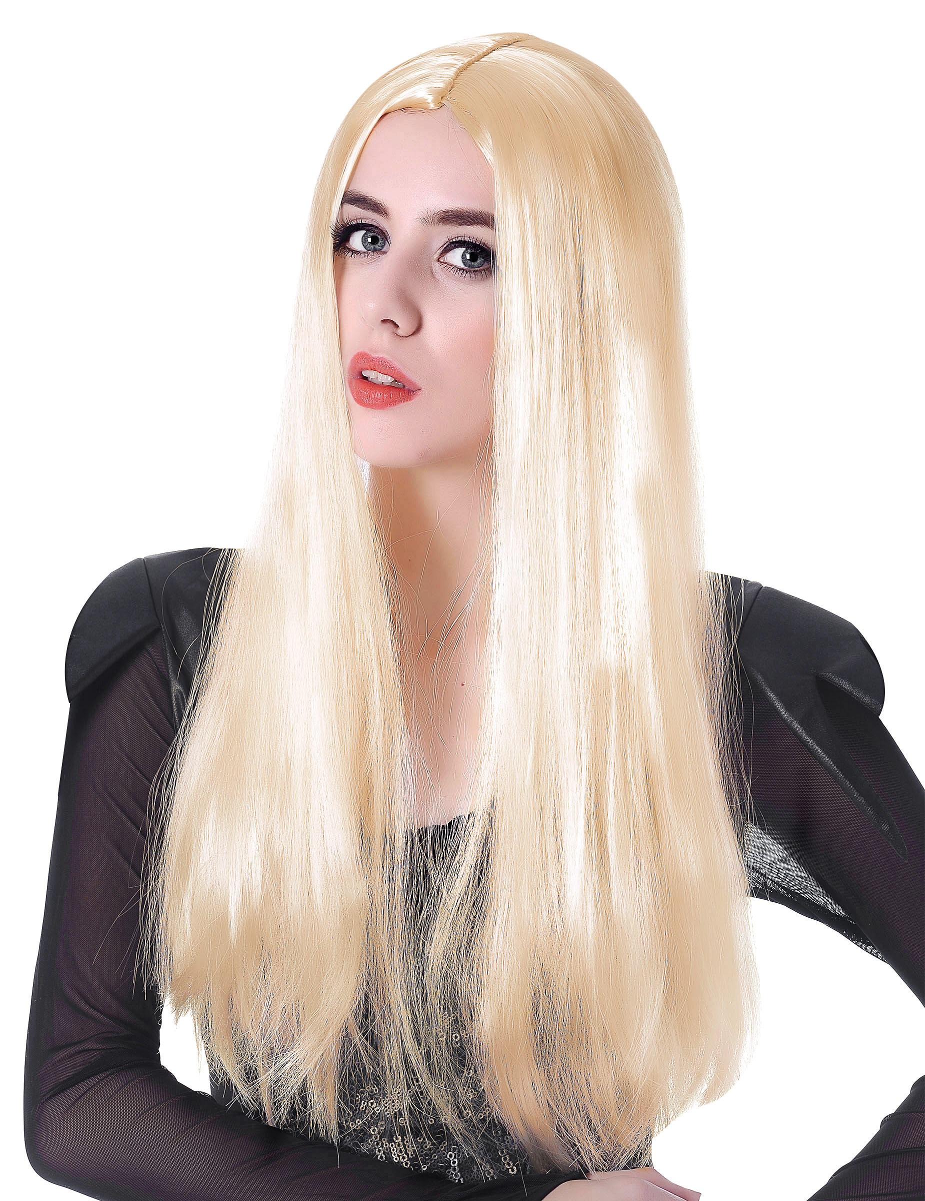 parrucca biondo platino
