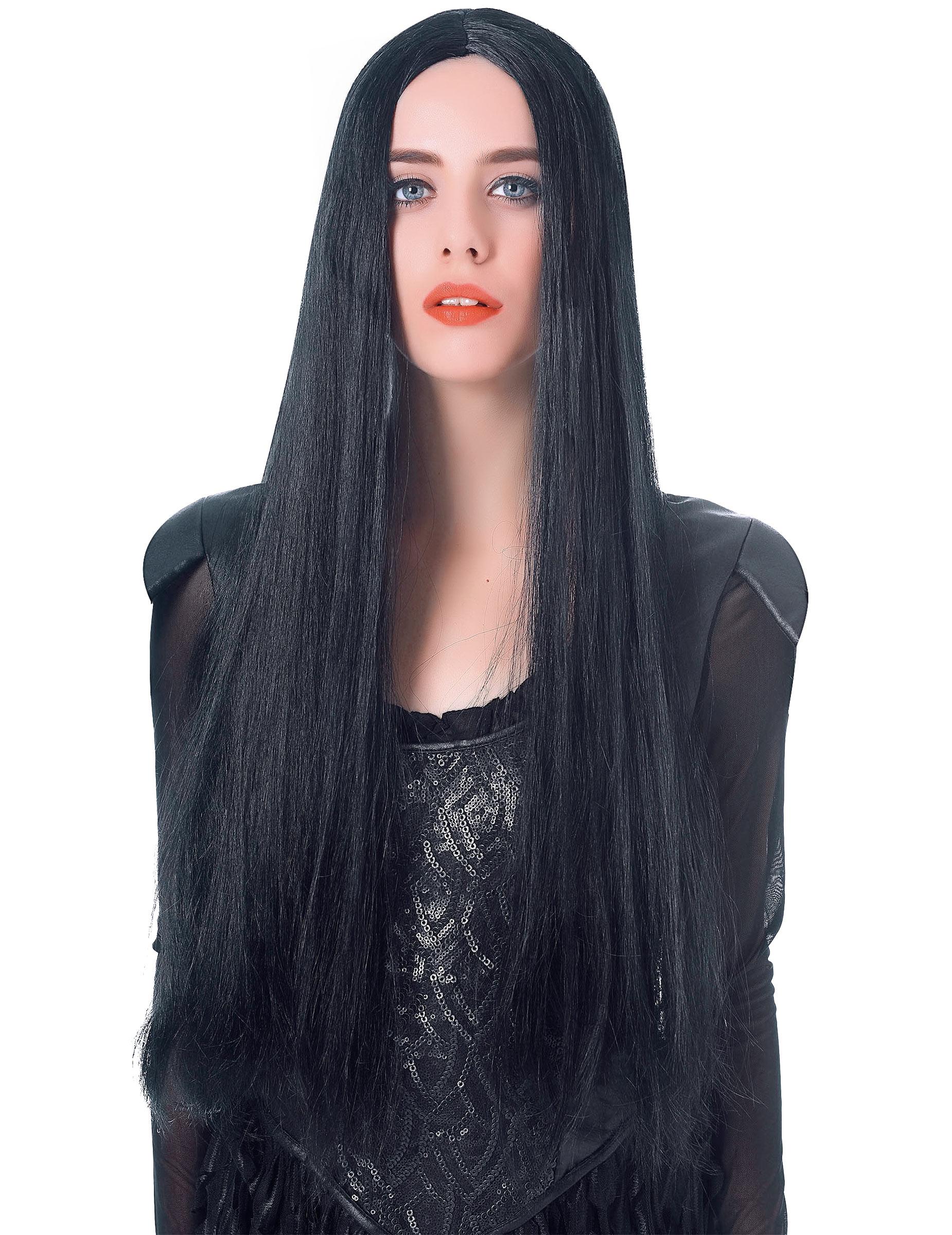 d5ee40a712c7 Parrucca da donna di Halloween lunga 75 cm: Parrucche,e vestiti di ...