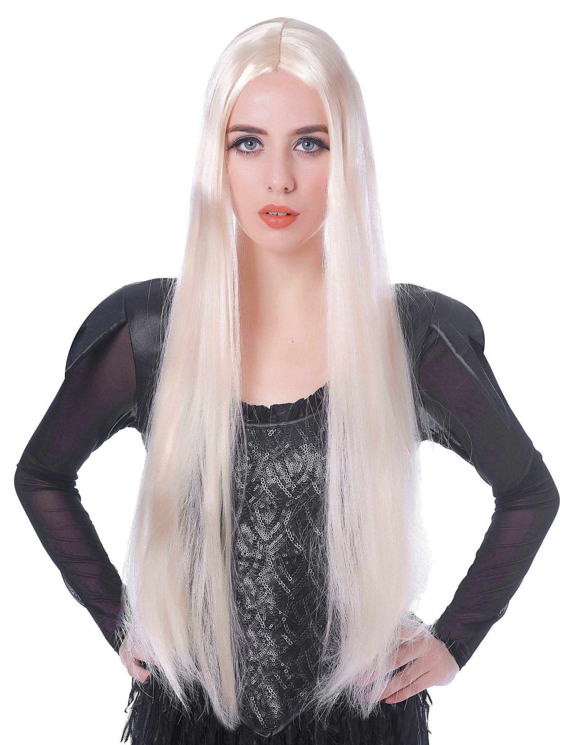 Parrucca lunga bionda donna 75cm  Parrucche 6fd843c946d2