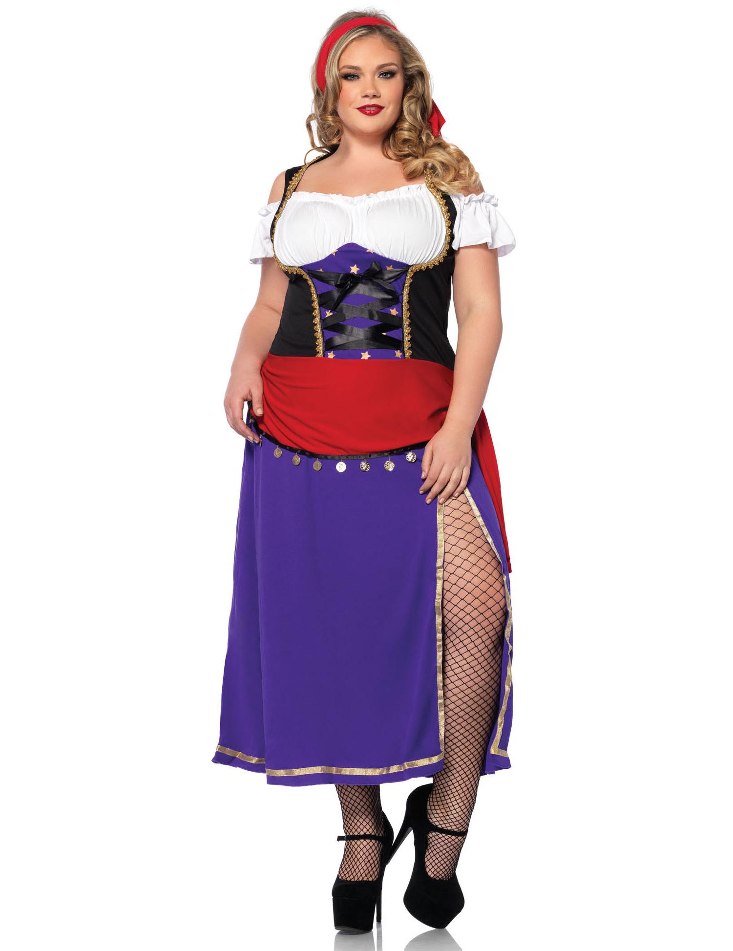 d619ded79572 Costume Gitana per donna - taglie forti  Costumi adulti