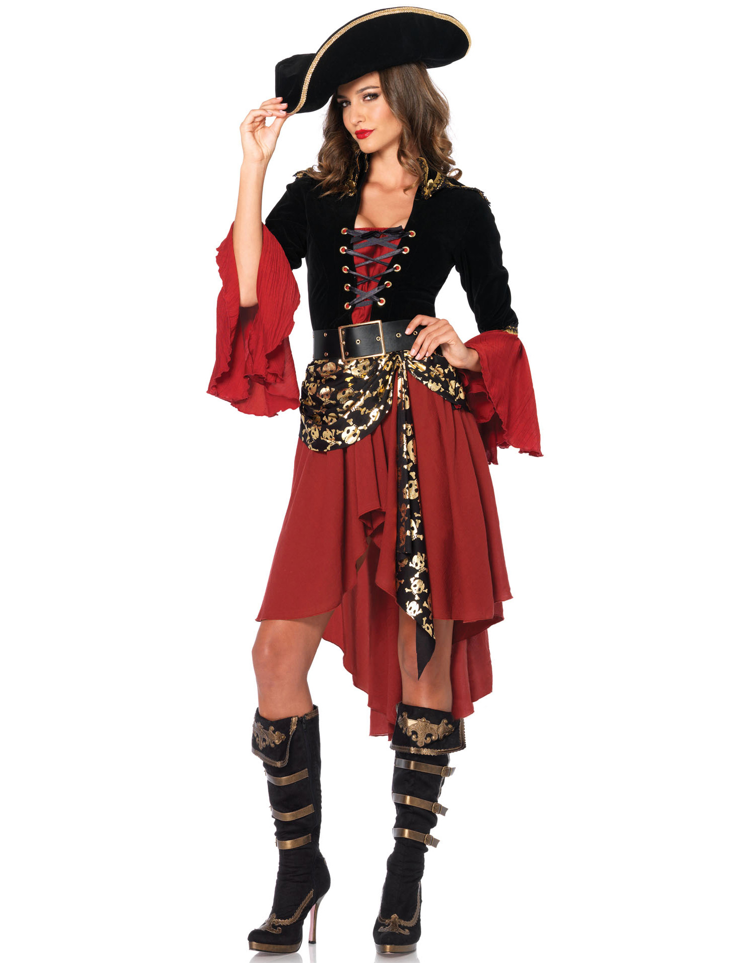 Estremamente da pirata per donna deluxe WK13