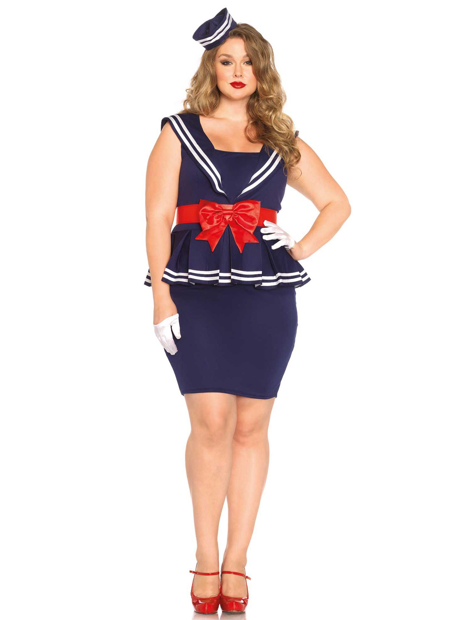 Costumi donna taglie forti – Tagli di capelli popolari 2019 69c9b695555d
