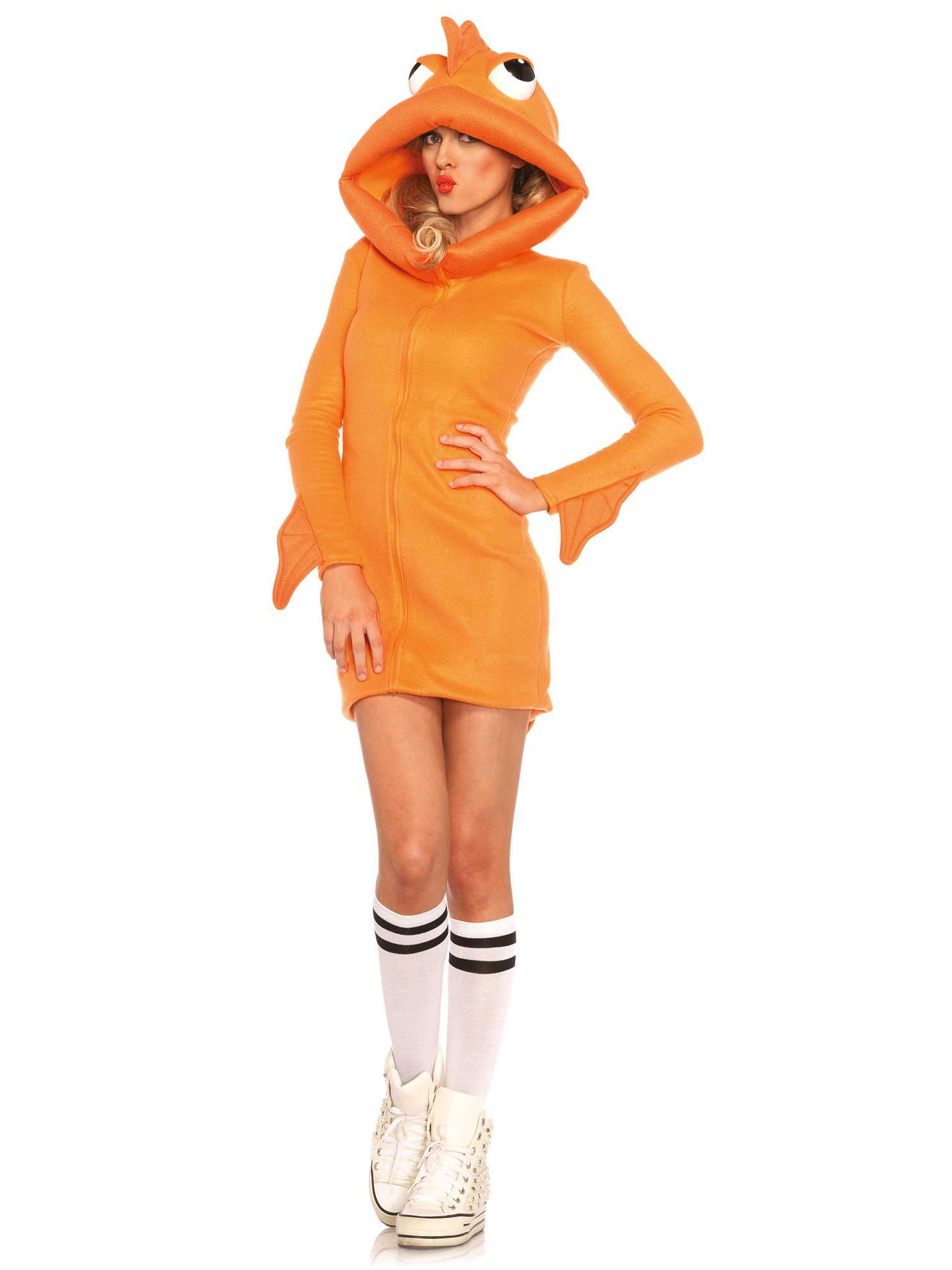 Célèbre Costume Pesce rosso Donna : Costumi adulti,e vestiti di carnevale  ZB55