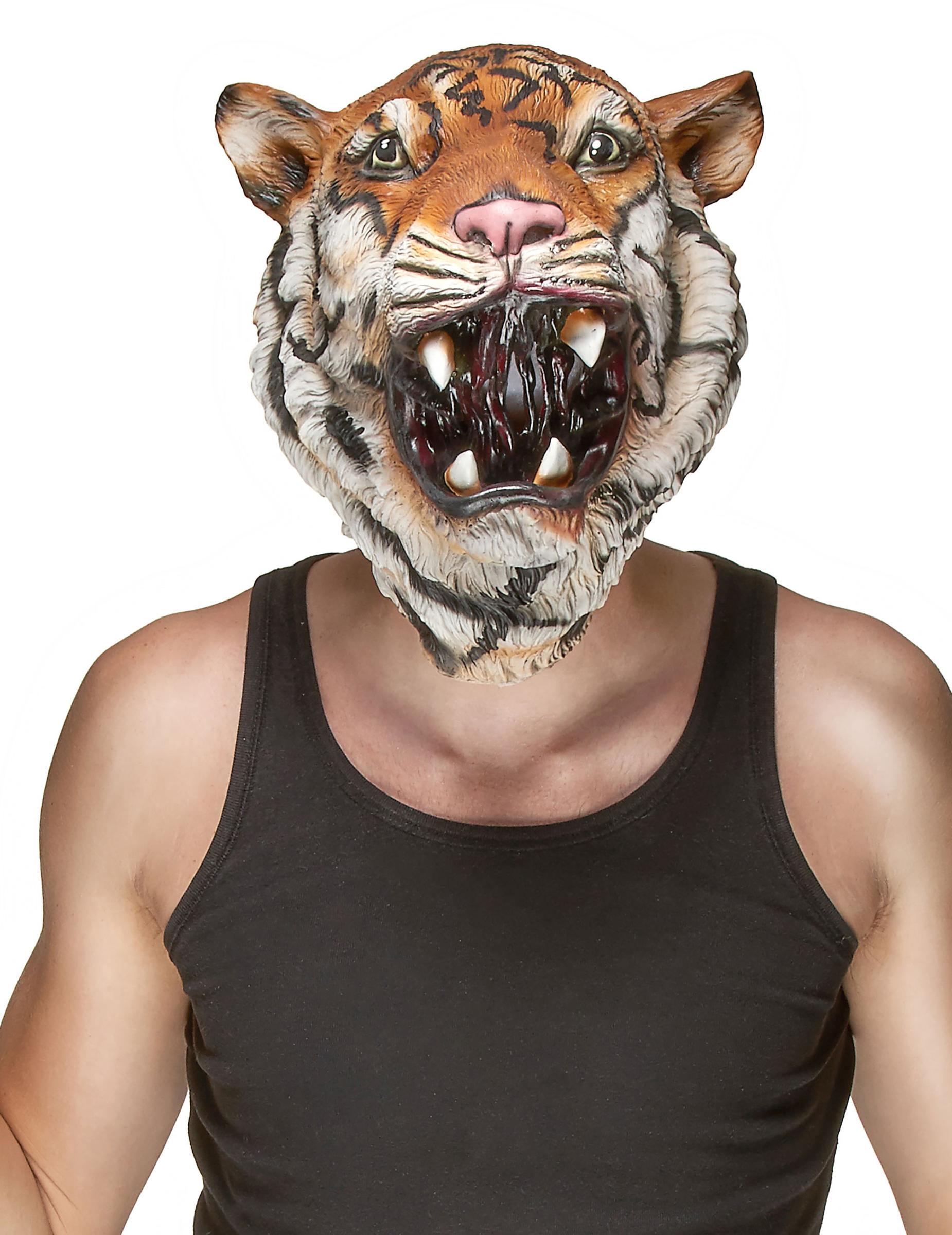 maschera uomo tigre