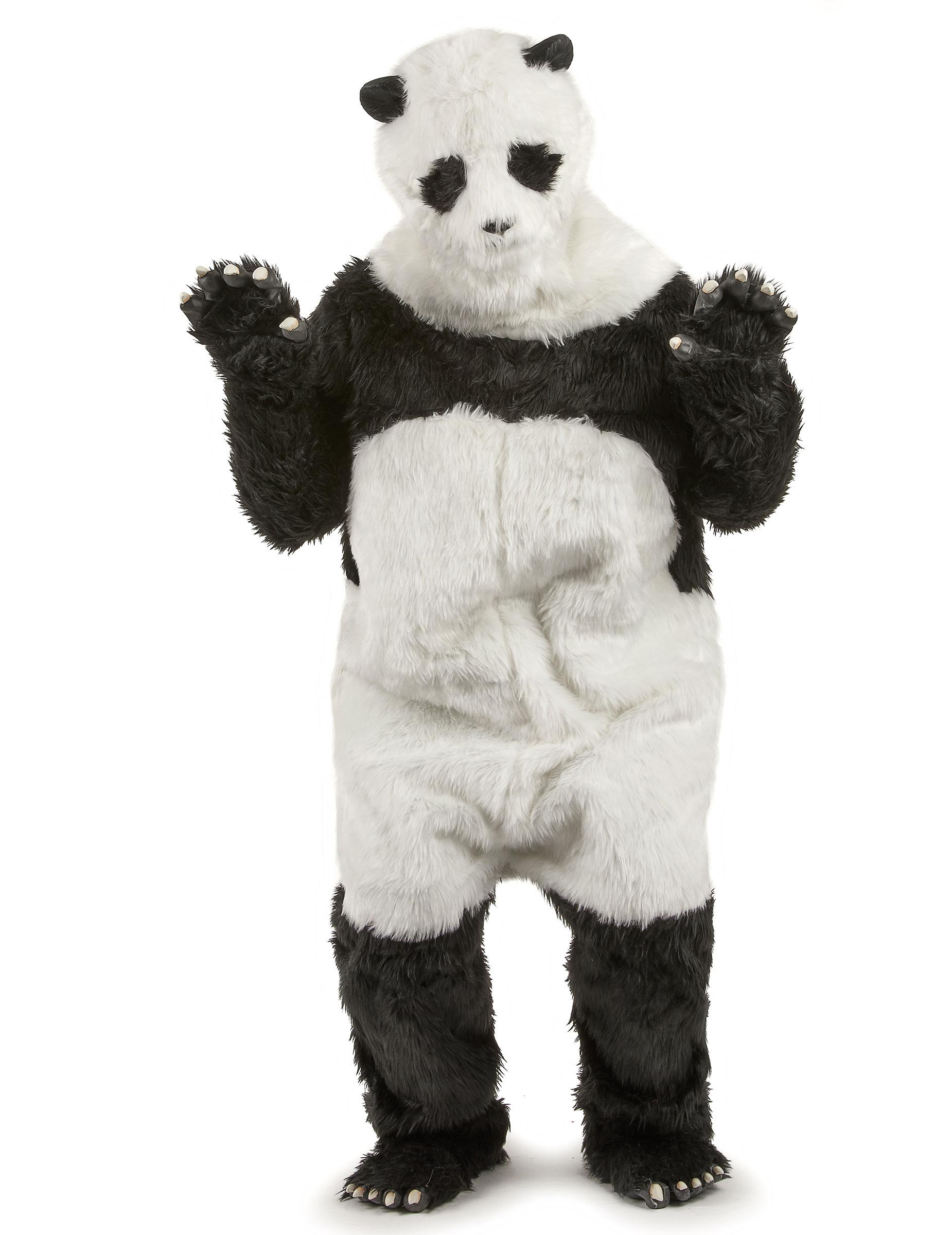 mascotte costume adulto  Costume da panda mascotte per adulto: Costumi adulti,e vestiti di ...