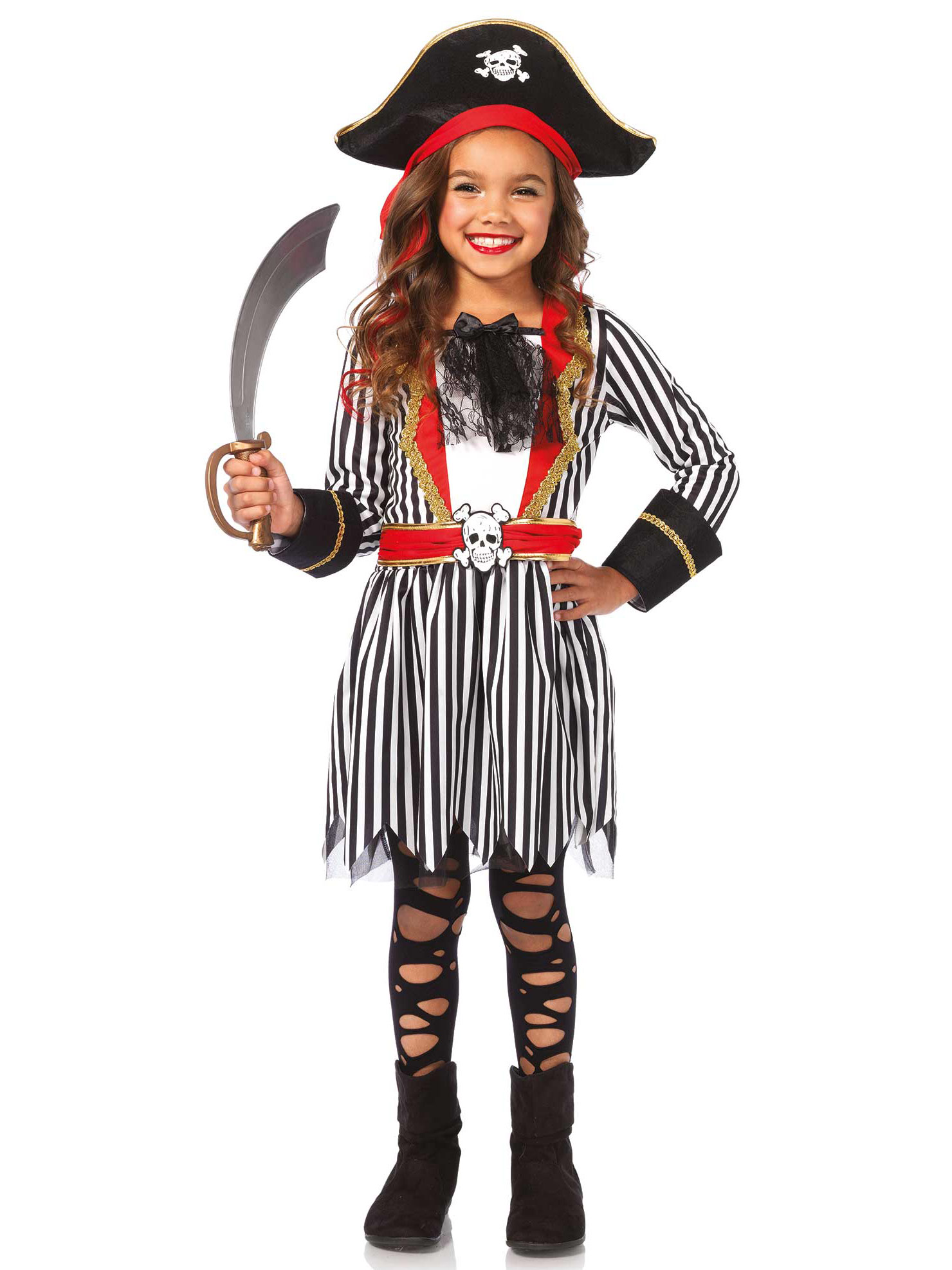 costume pirata bambina costumi bambini e vestiti di. Black Bedroom Furniture Sets. Home Design Ideas