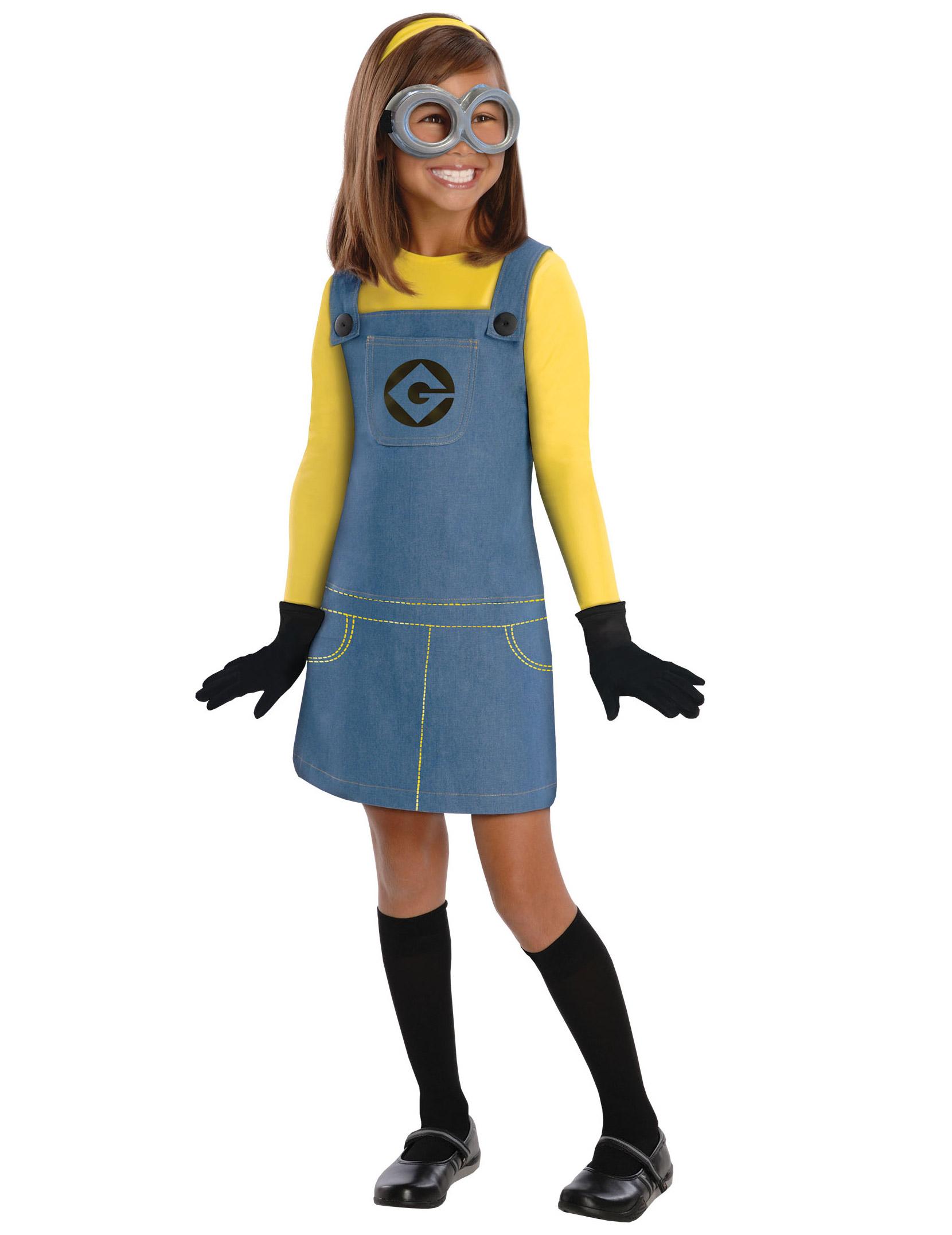 Conosciuto Costume Minions™ Bambina: Costumi bambini,e vestiti di carnevale  IP72
