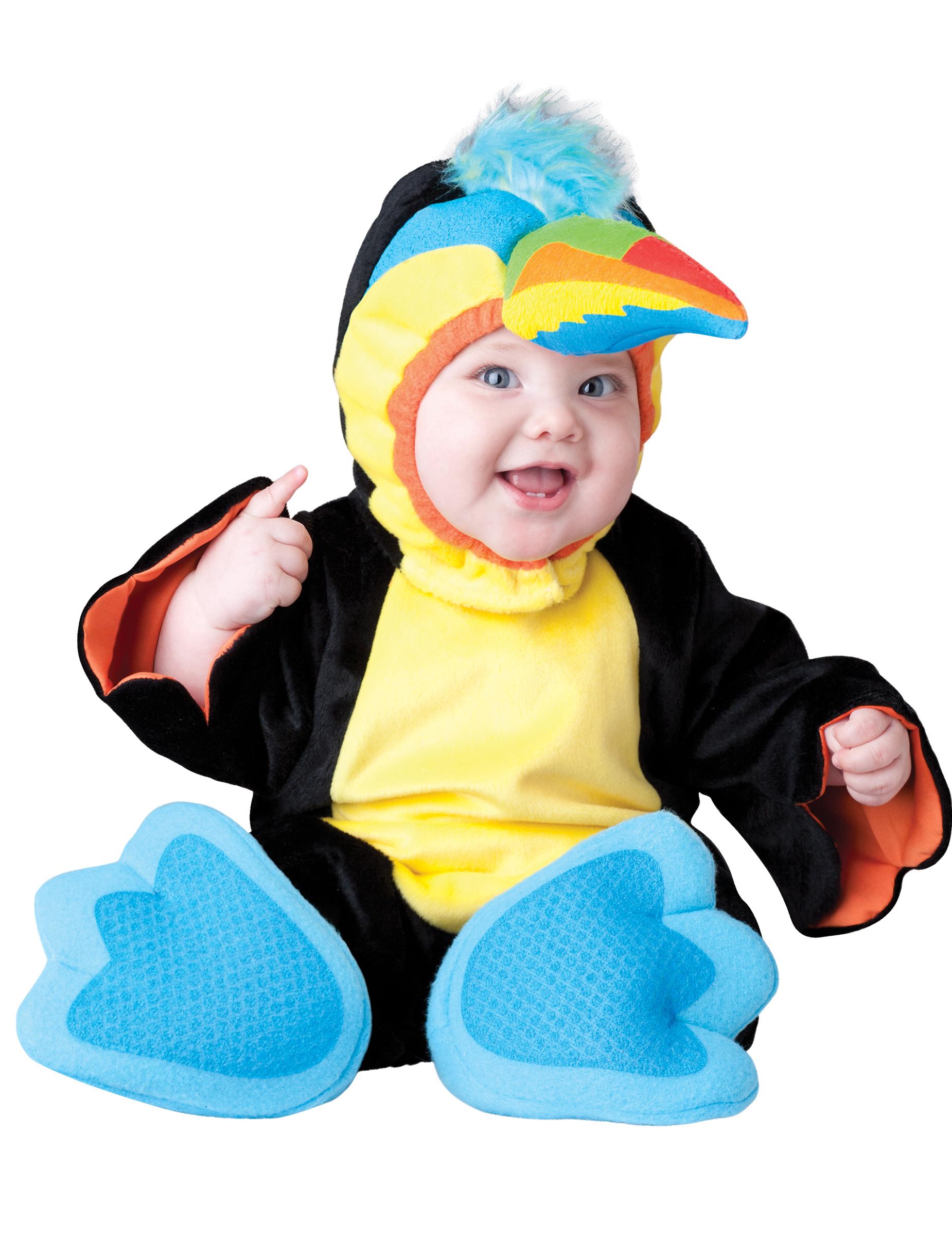 Costume tucano per neonato premium costumi bambini e vestiti di carnevale online vegaoo - Costume neonato piscina ...