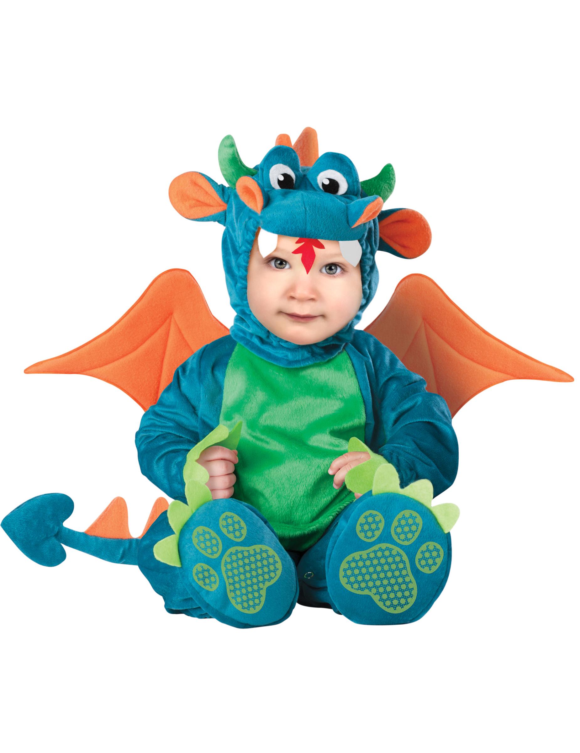 Costume Dragone per neonato - Lusso  Costumi bambini 0439e0b592f