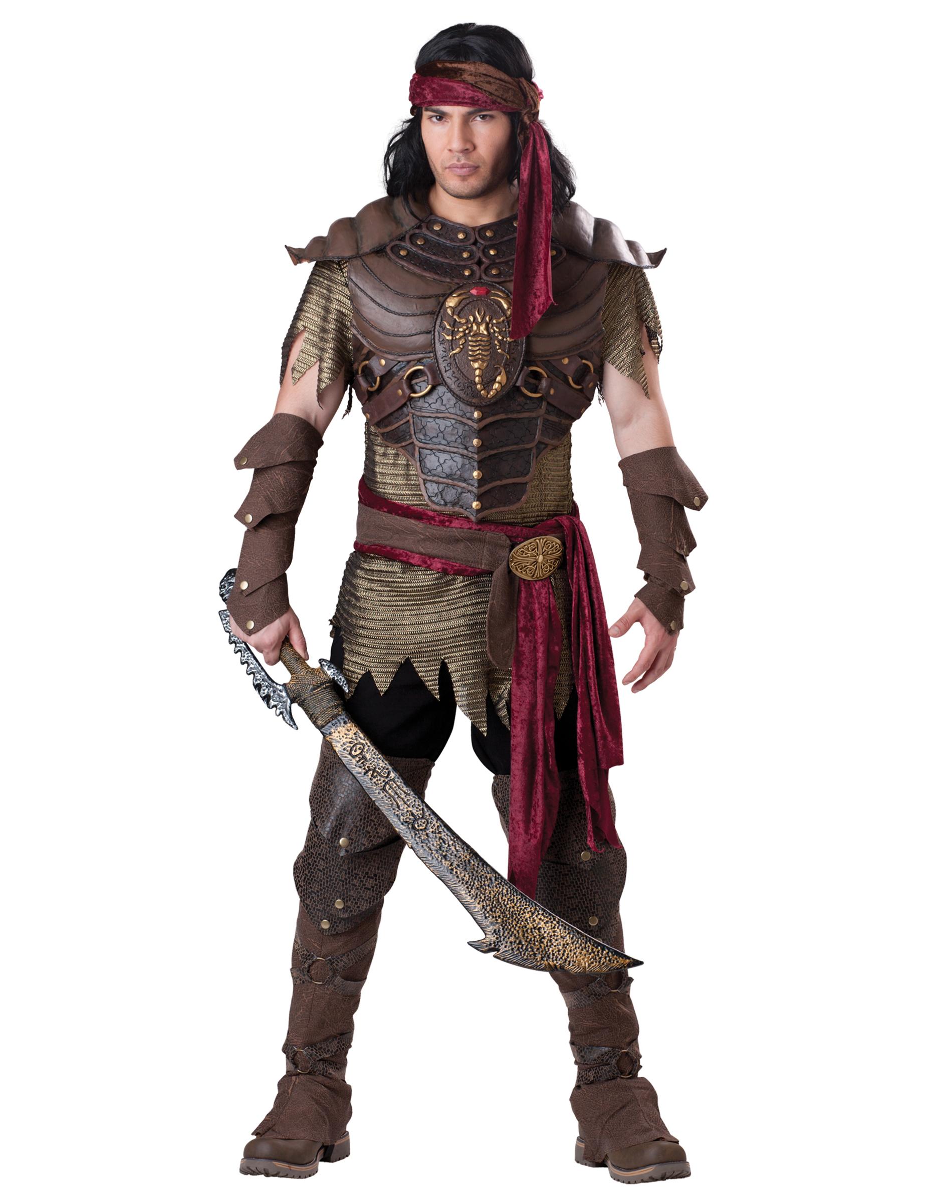 Costume Guerriero Scorpione per uomo XL IqNOfGj0dQ