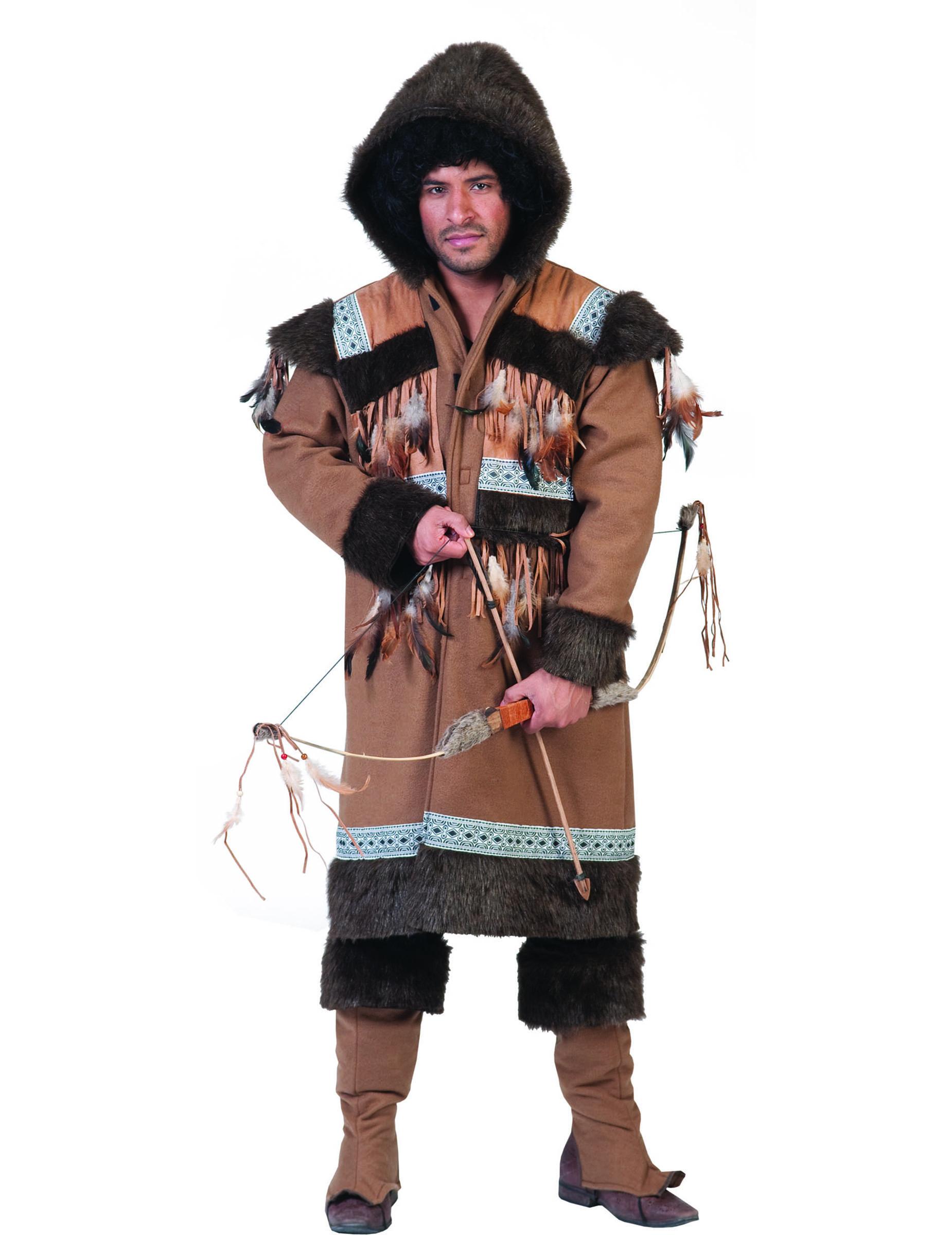 592c30f6f6 Costume eschimese per uomo: Costumi adulti,e vestiti di carnevale ...