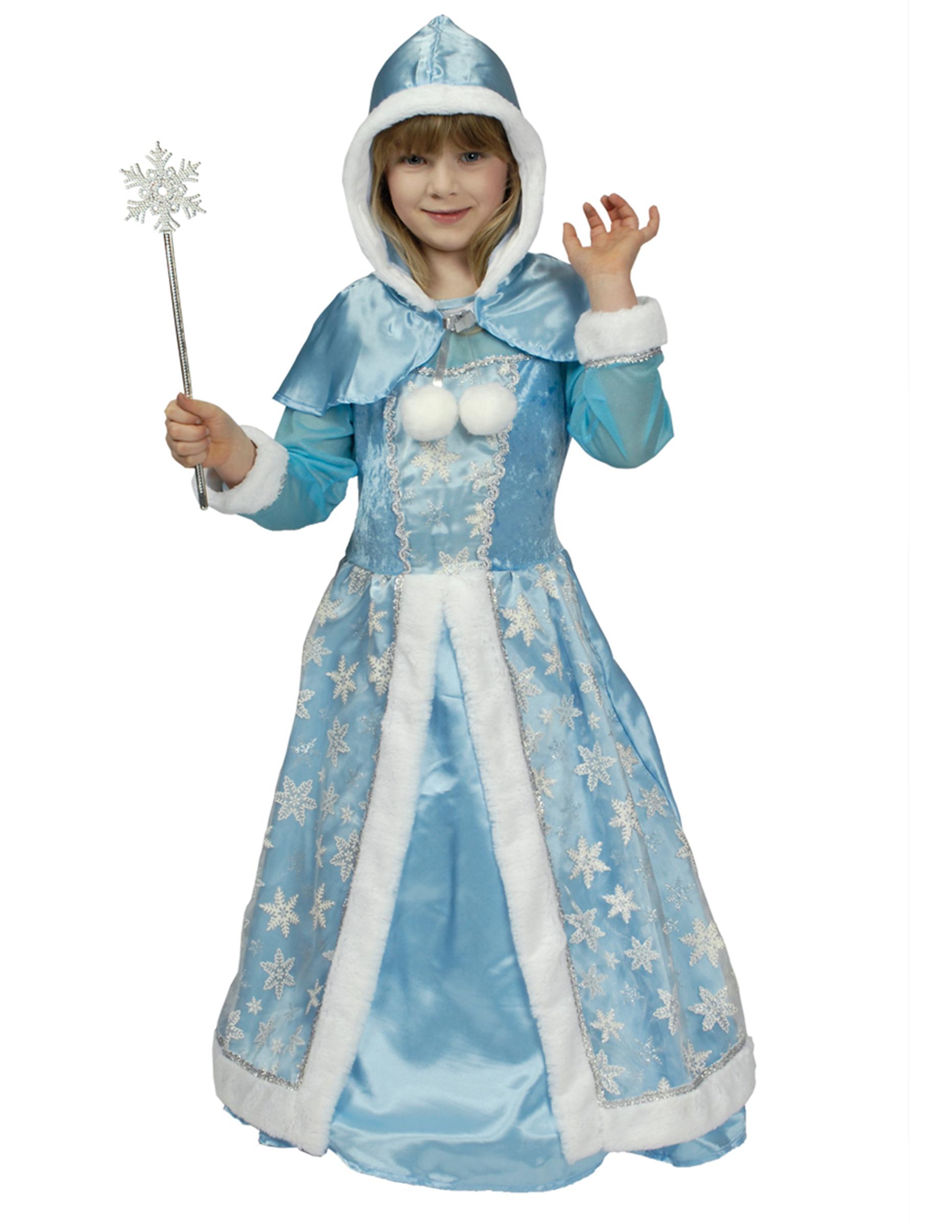 nuovo massimo vari tipi di a disposizione Costume Regina delle nevi bambina