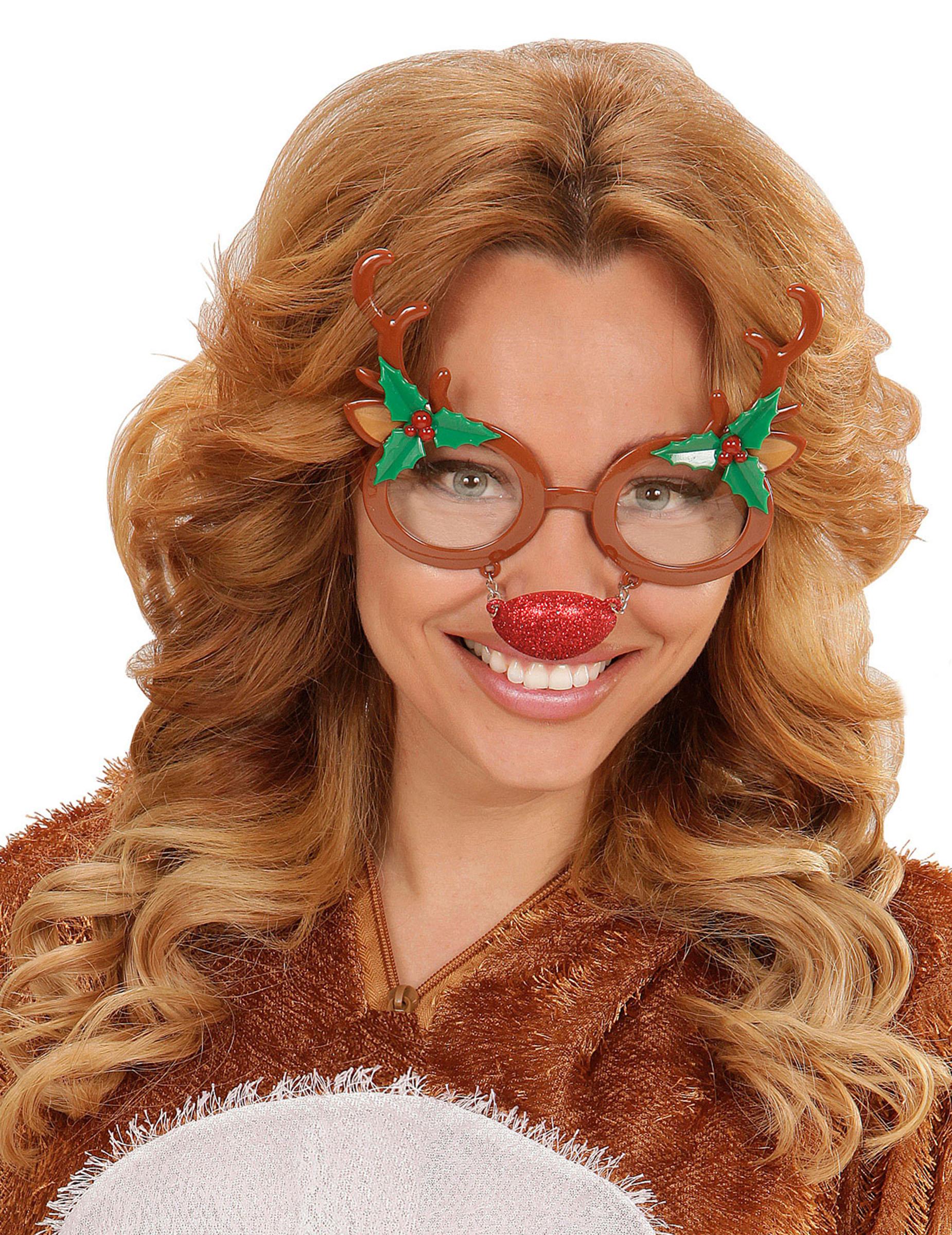 Costume da renna per adulti Natale Carnevale Cod.173580