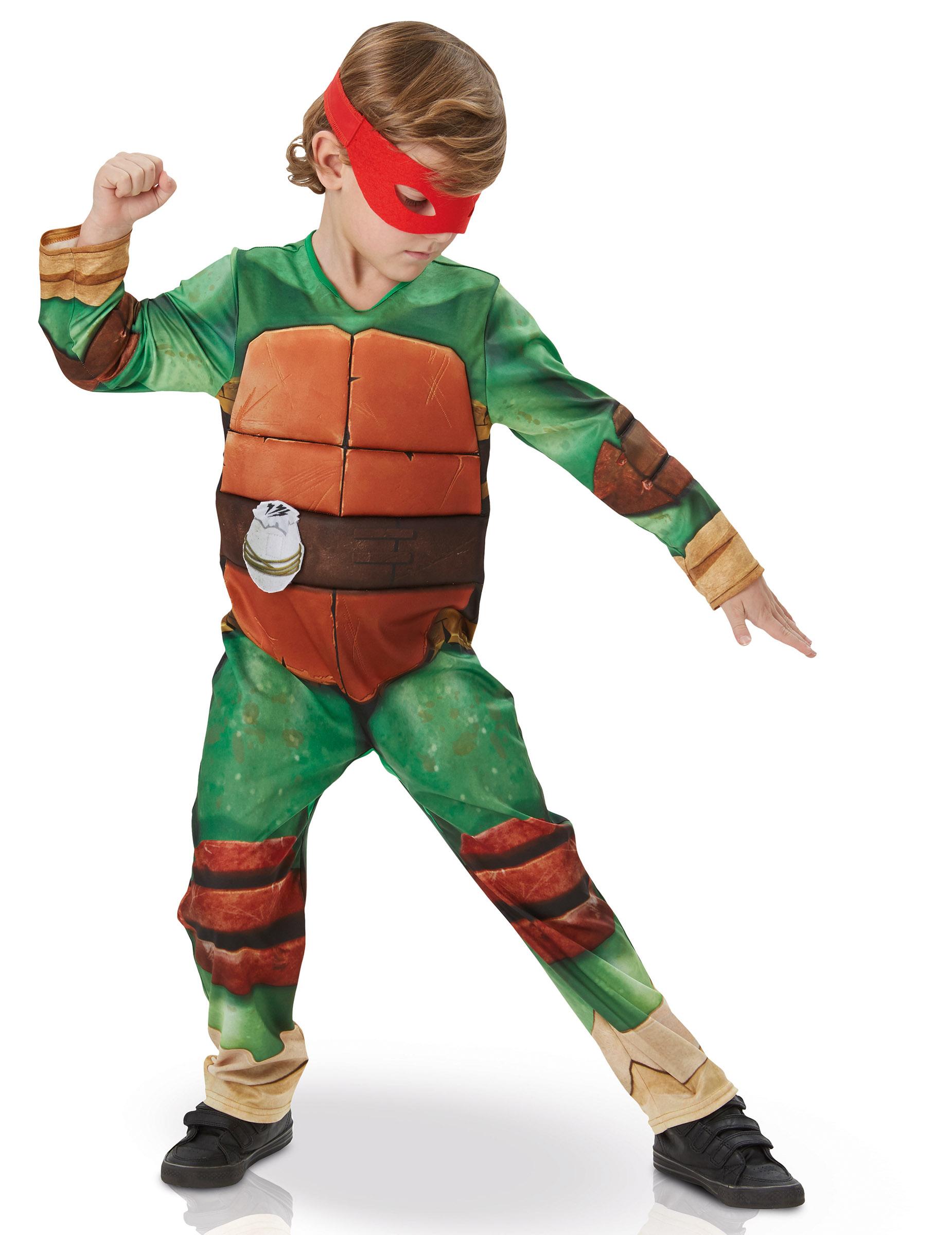 Costume Lusso Tartarughe Ninja Per Bambino Costumi Bambinie