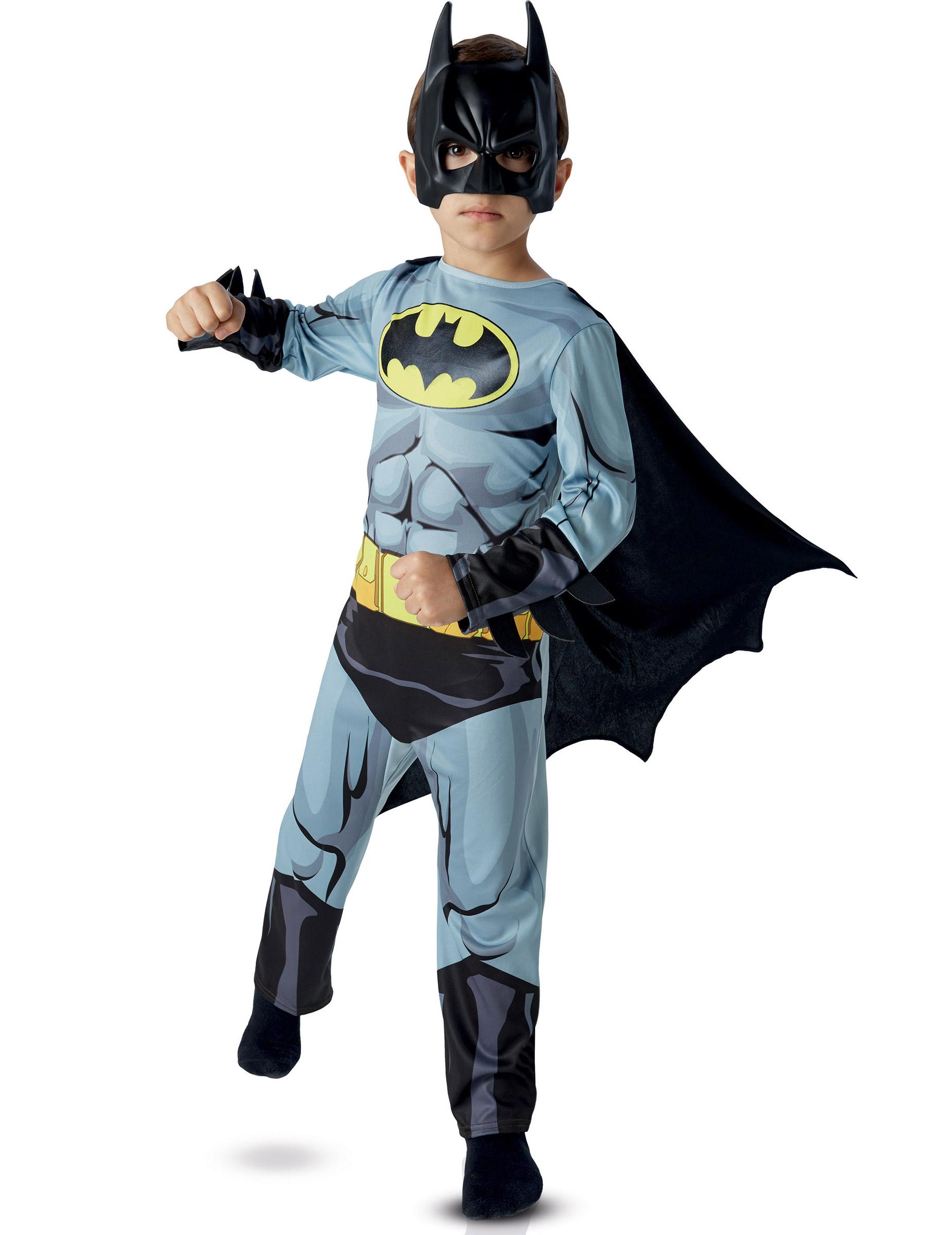 costume classico batman per bambino costumi bambini e vestiti di carnevale online vegaoo. Black Bedroom Furniture Sets. Home Design Ideas