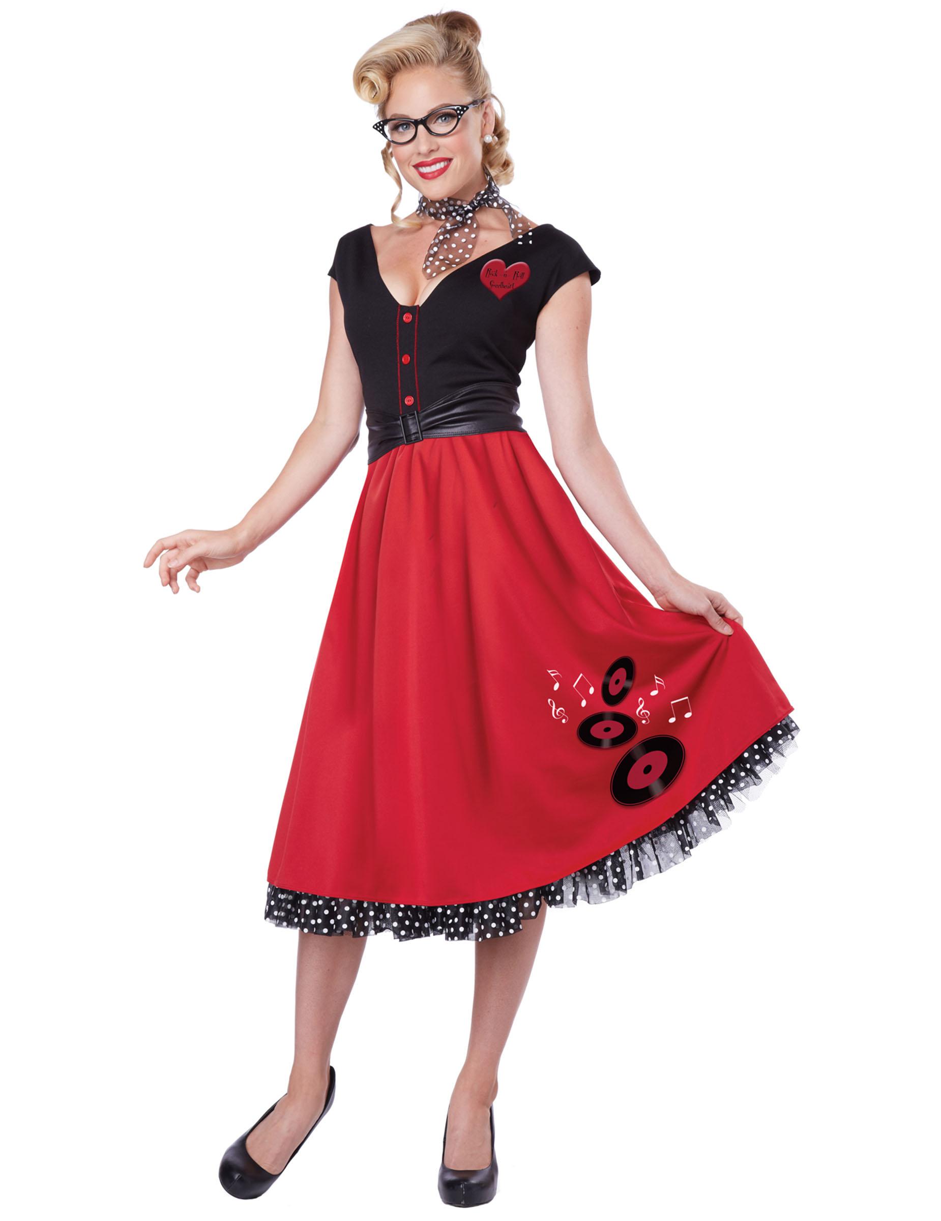 Costume Rock\u0027n\u0027roll per donna